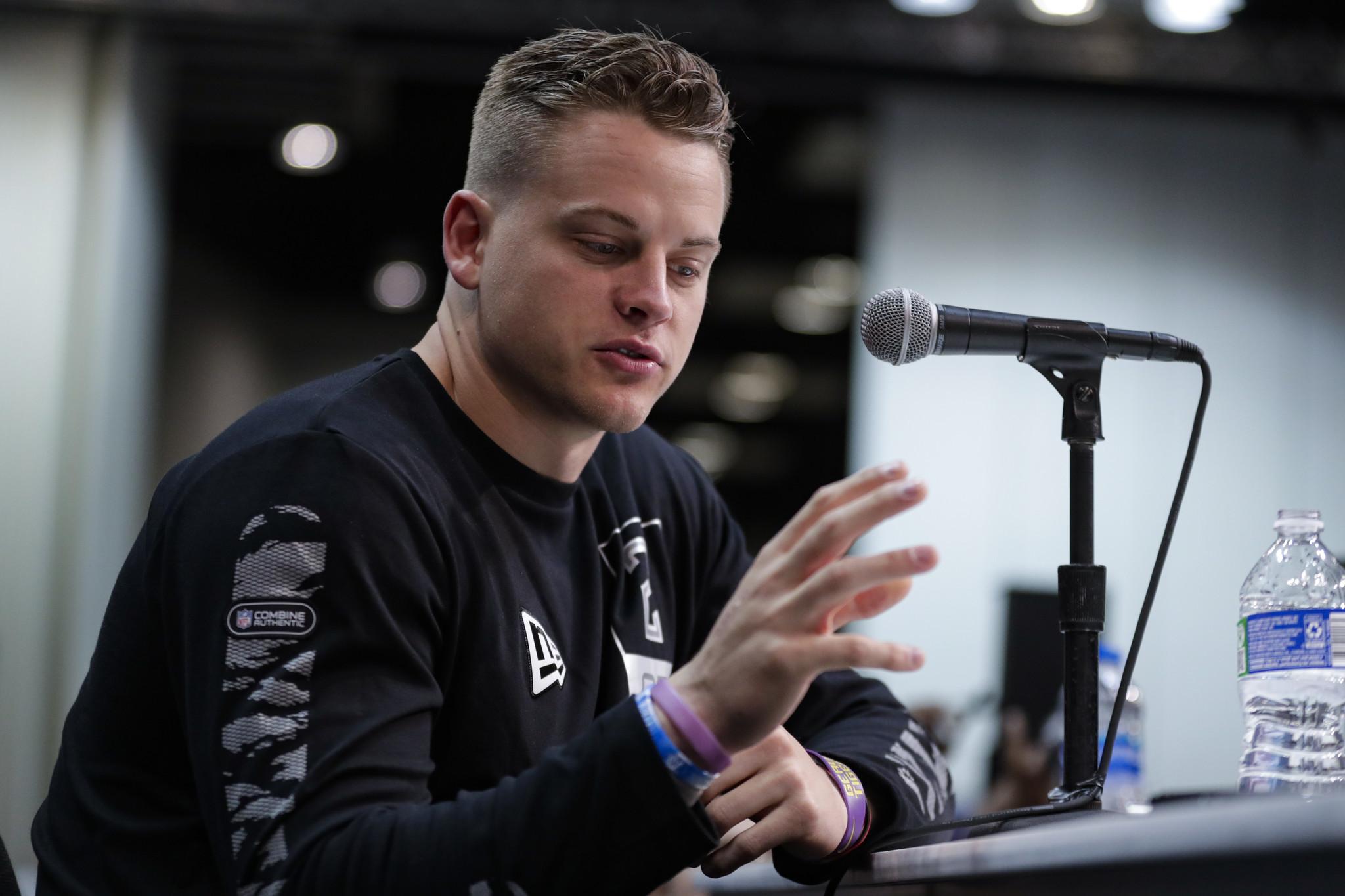 Joe Burrow, Tua Tagovailoa address key issues at NFL Scouting Combine