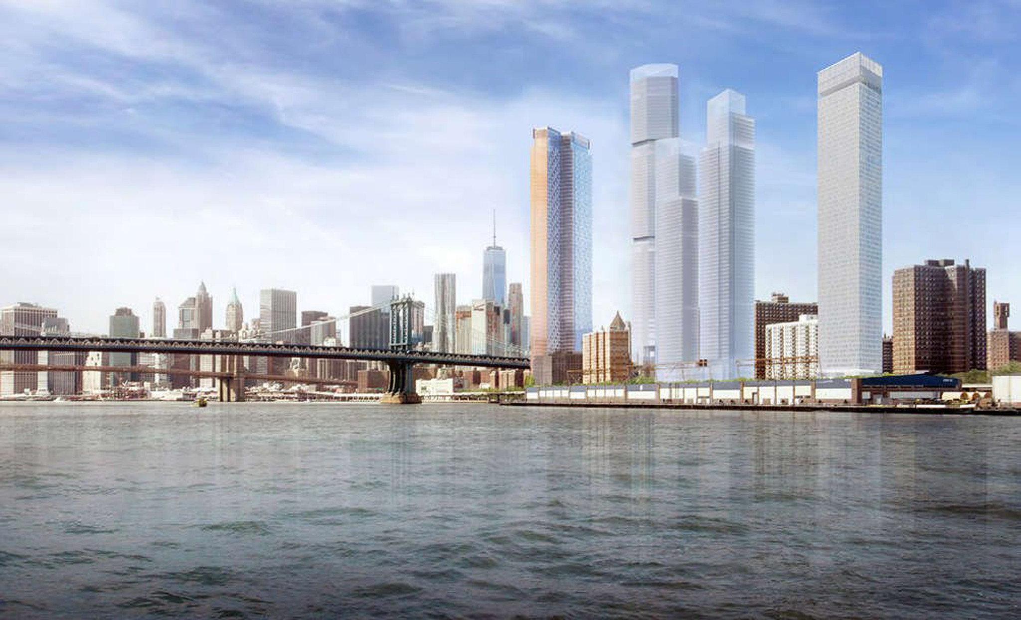 N.Y. judge rules against luxury 'Two Bridges' development that de Blasio had embraced
