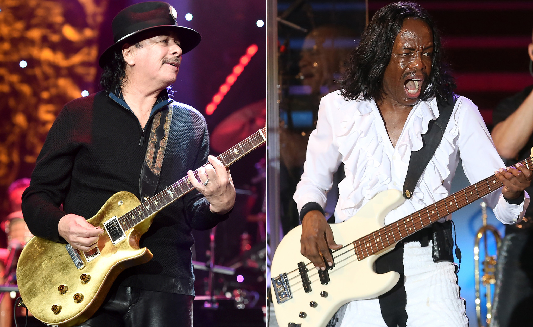 Santana and Earth, Wind and Fire still going strong and will hit the road for North American tour this summer