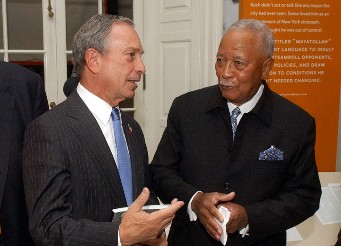 Former NYC Mayor David Dinkins endorses Mike Bloomberg for President