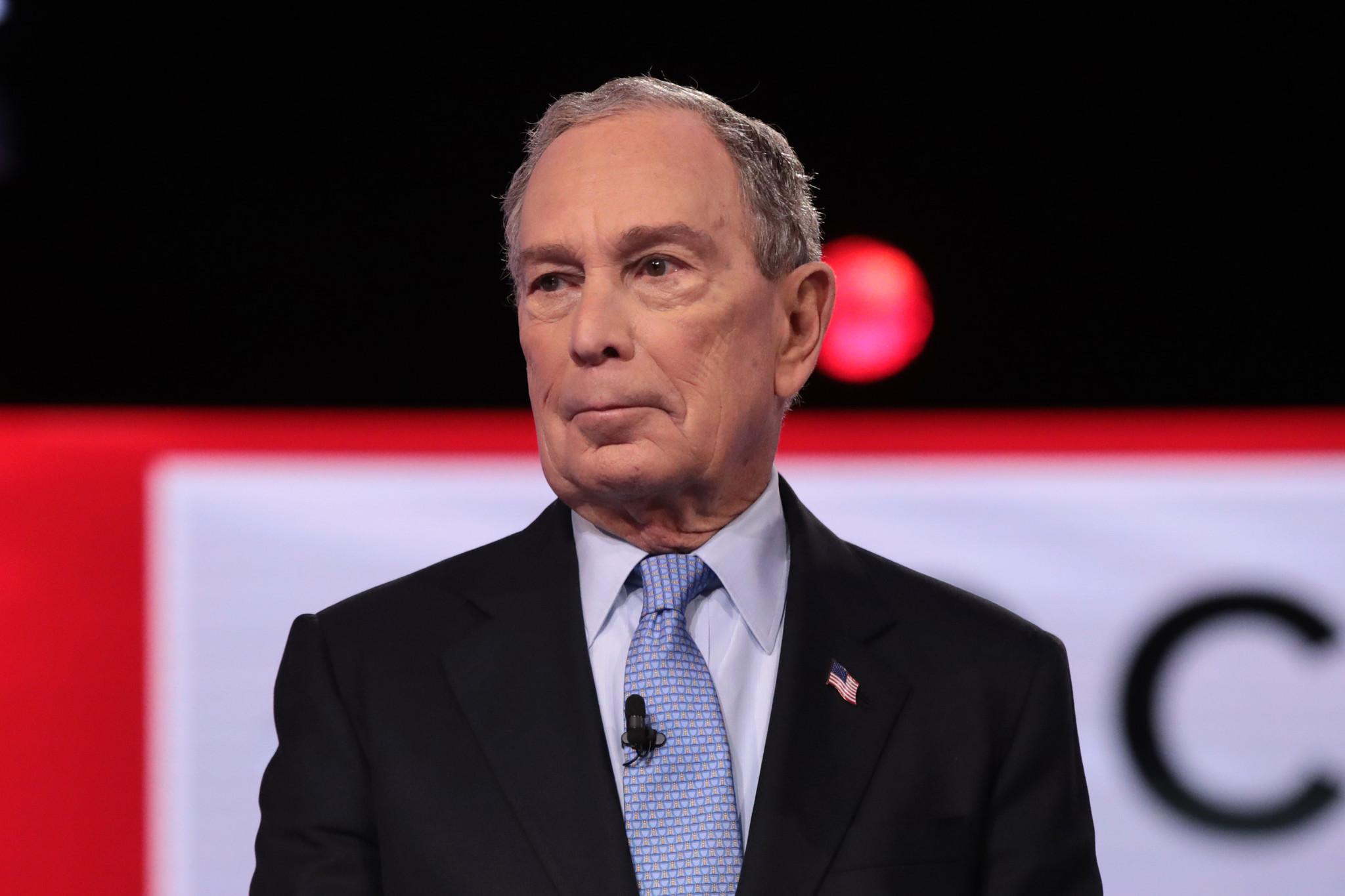 Michael Bloomberg's debate gaffe -- he 'bought' Congress