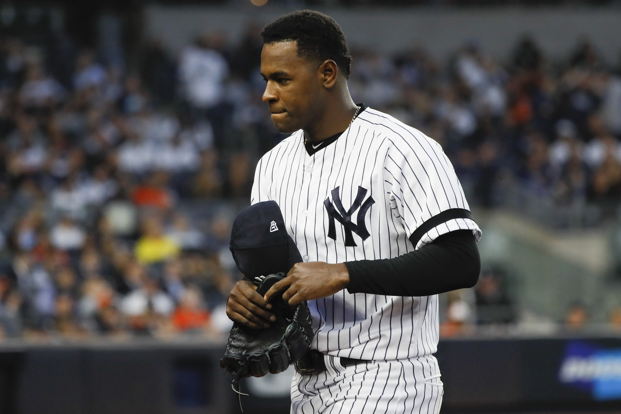 The Yankees signed Luis Severino to a good contract