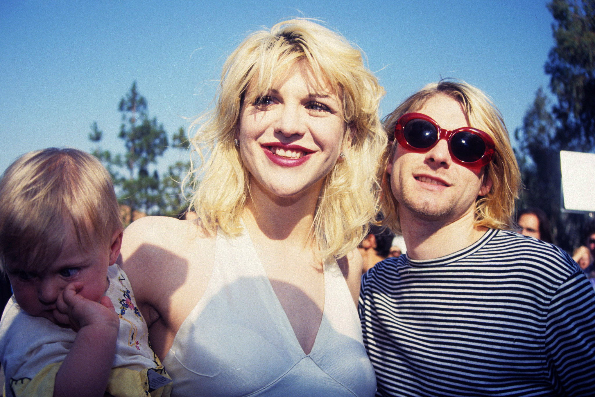 Courtney Love reflects on wedding day with Kurt Cobain on 28th anniversary