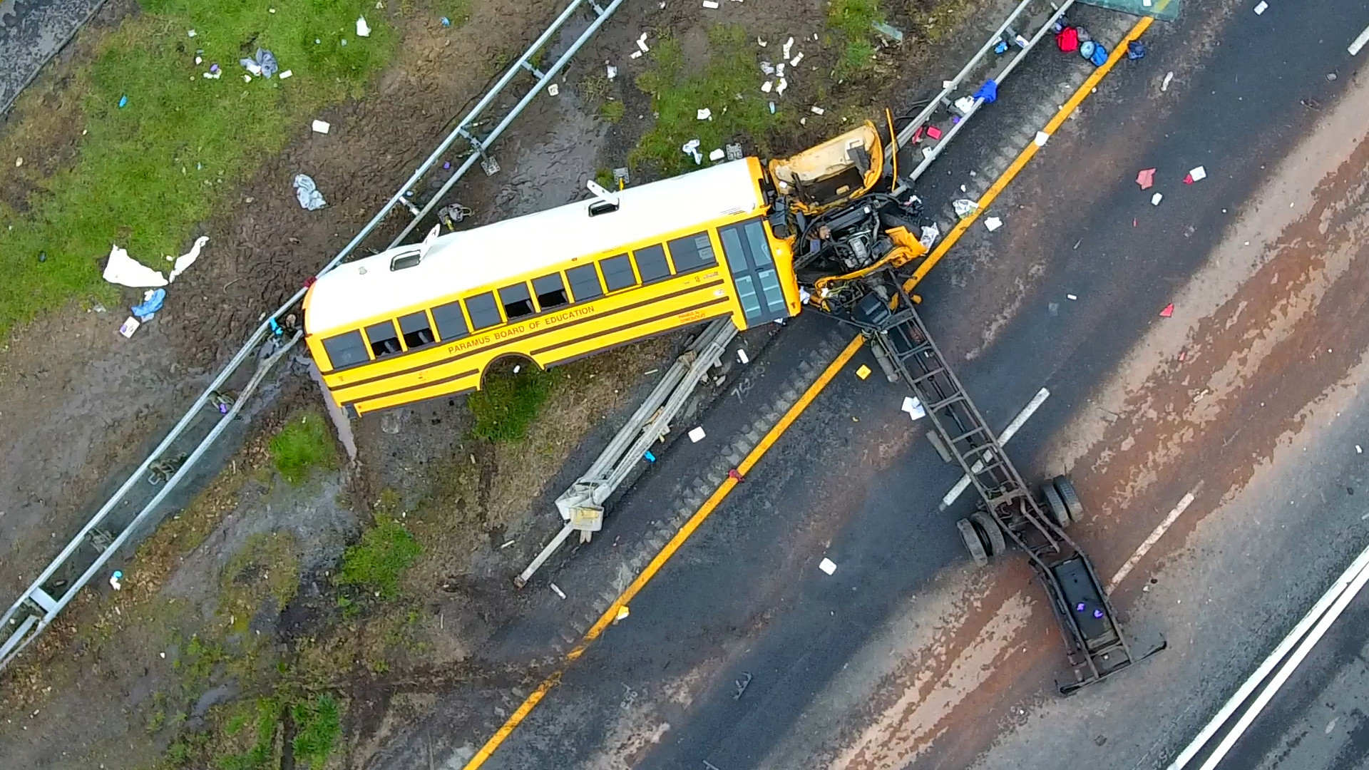 NJ school bus driver sentenced to 10 years in prison for illegal interstate U-turn and wreck that killed one teacher and a fifth-grader