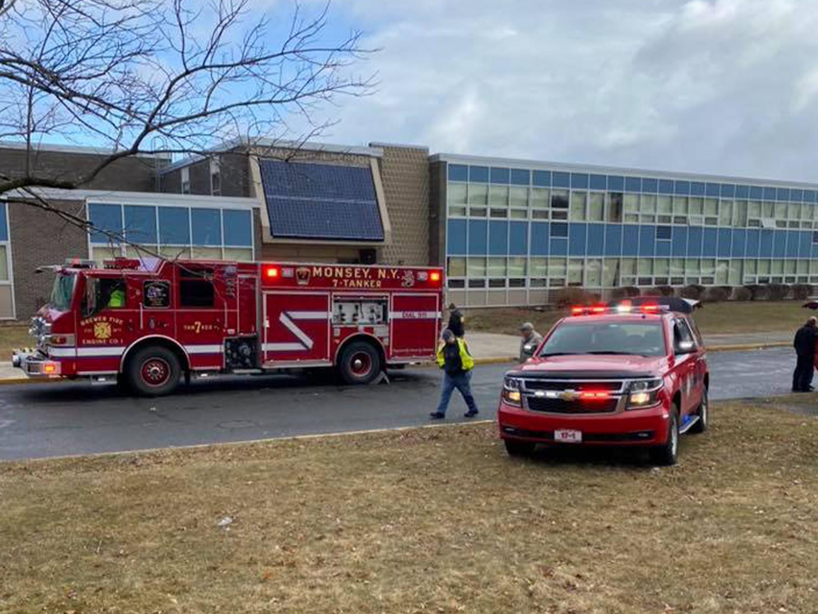 Pepper spray incident at Spring Valley high school sickens student, security guard; sparks evacuation: authorities