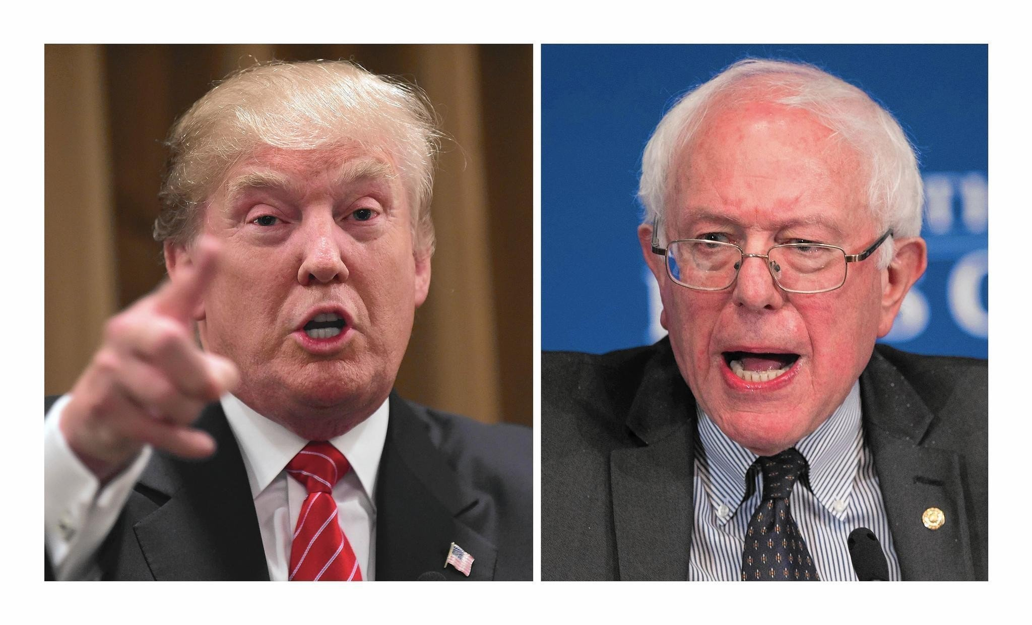 Bernie Sanders, Donald Trump and the stories they tell