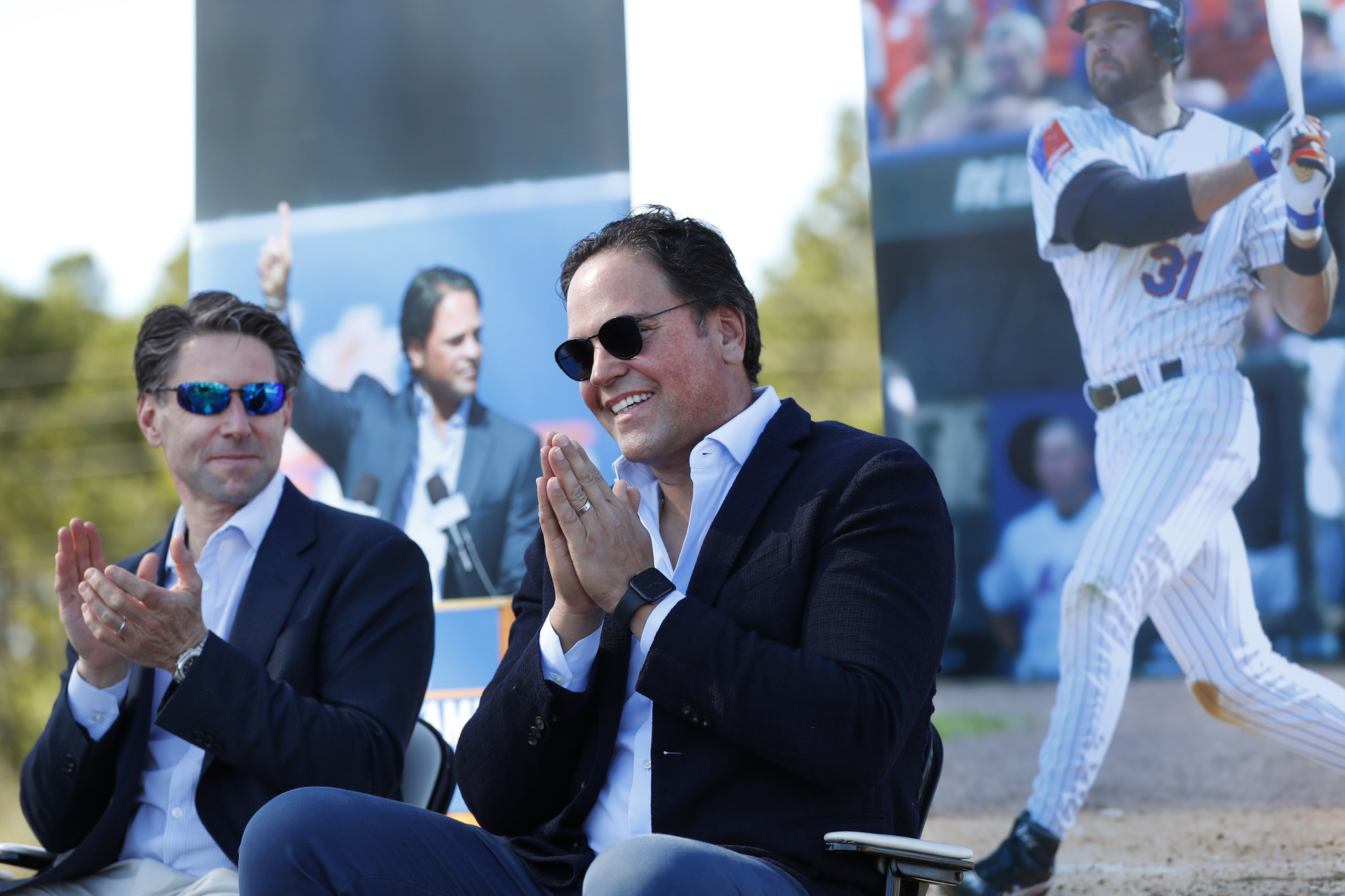 Mike Piazza sticks up for the Wilpons, tells Mets fans to stay positive and patient