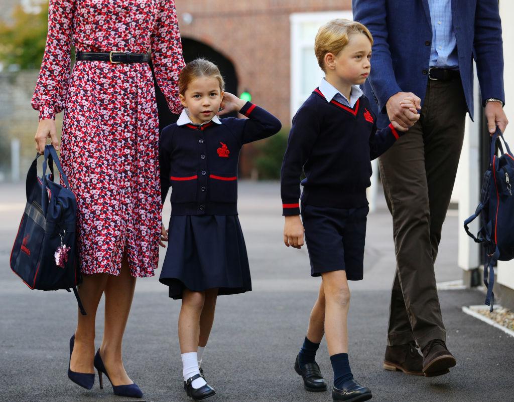 Prince George and Princess Charlotte's school testing kids for coronavirus