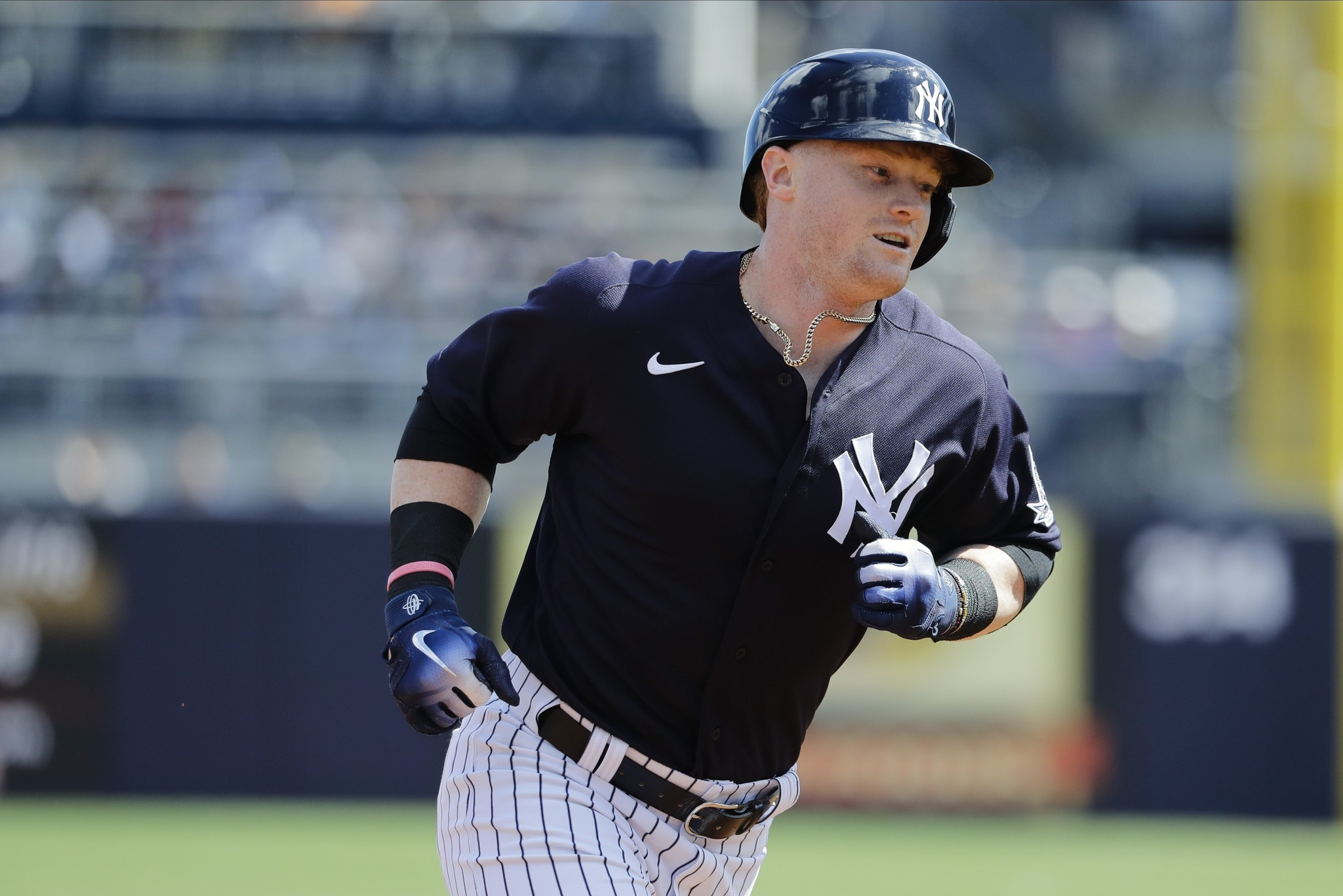 Clint Frazier is quietly making his case for a return to the Yankees roster