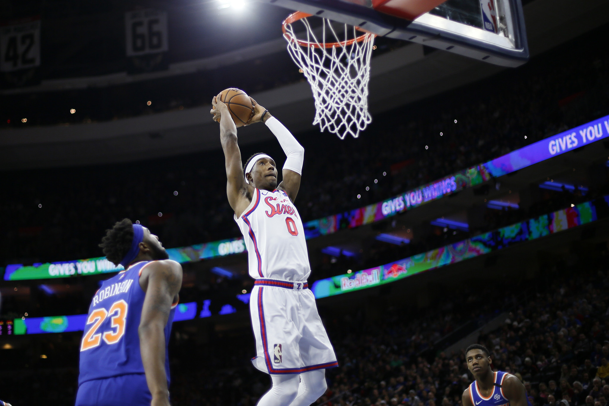 Knicks handed seventh straight losing season after loss to Sixers