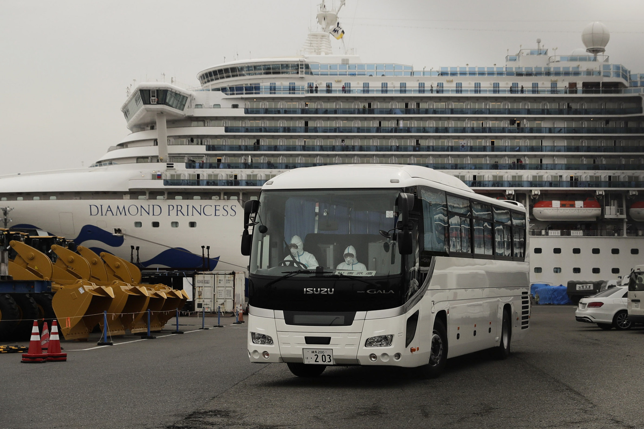 Coronavirus has now killed 6 passengers on quarantined ship, including 1st British patient to die from infection