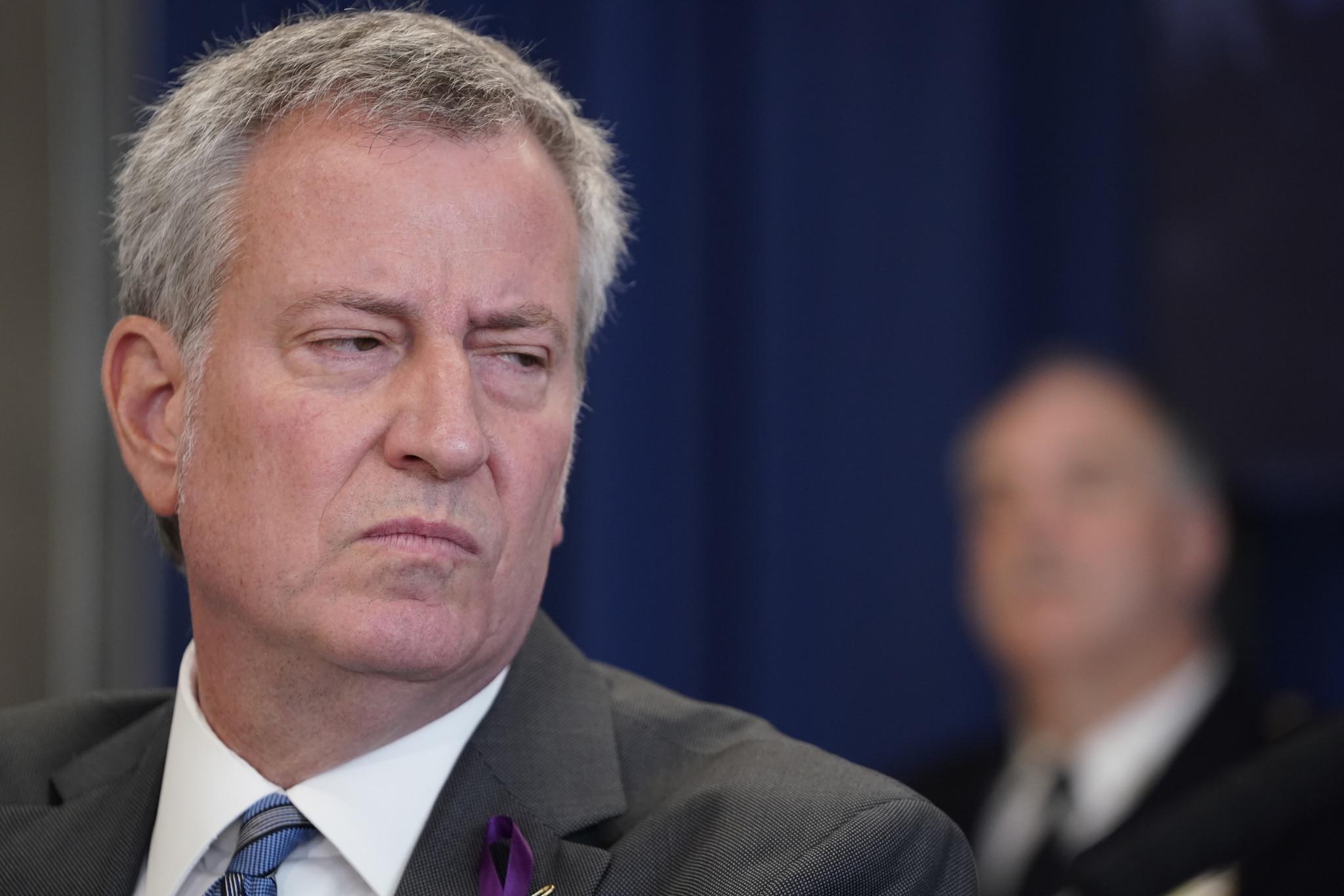 NYC Mayor de Blasio blasts coronavirus response from CDC and Trump administration as 'malpractice'