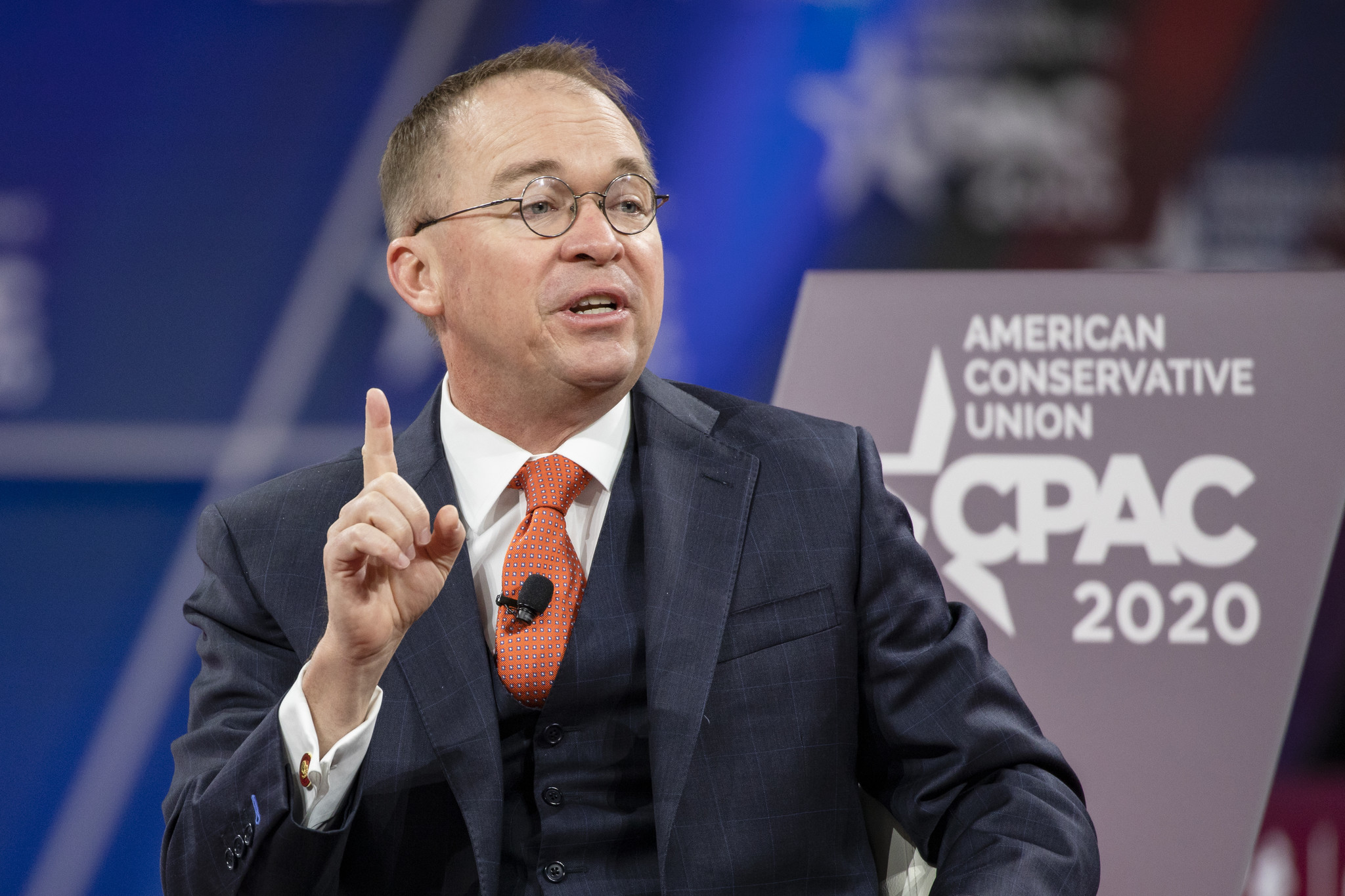 W.H. chief of staff Mick Mulvaney says 'turn the television off' amid coronavirus crisis