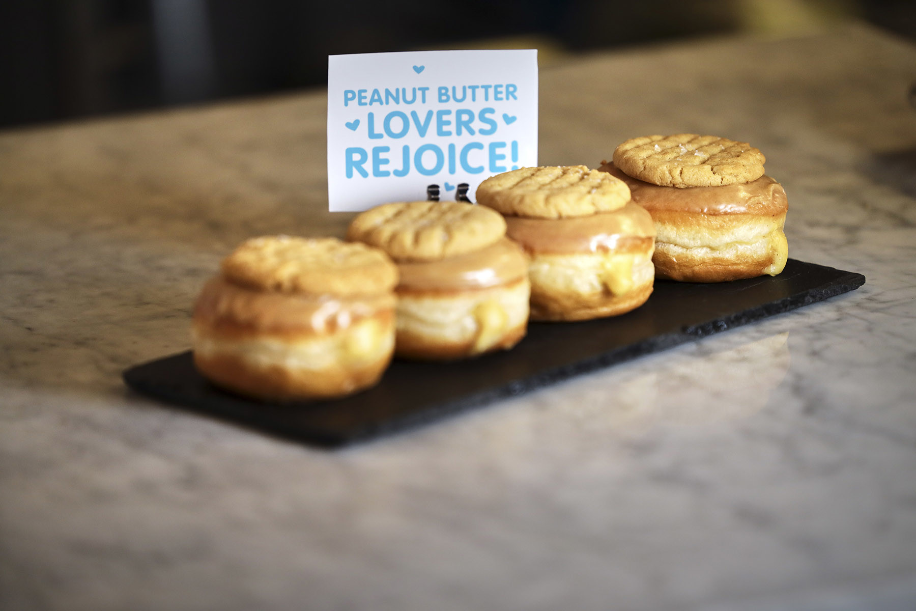 Mother of all peanut butter doughnuts coming to NYC shop for National Peanut Butter Lover's Day