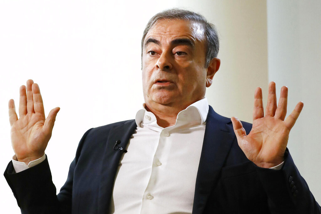 Japanese minister to fly to Lebanon, push for Carlos Ghosn's return