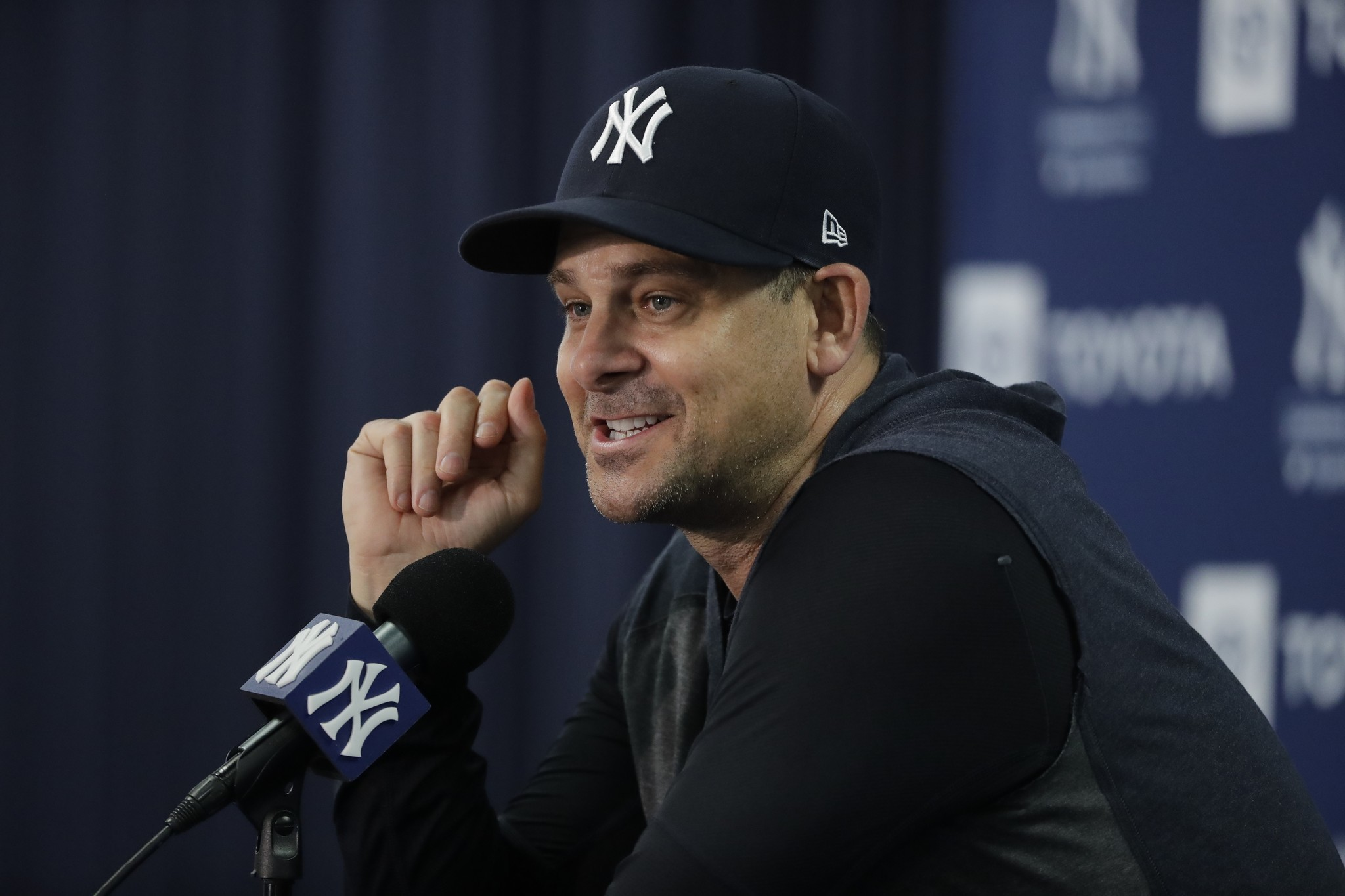 Yankees manager Aaron Boone optimistic injuries to Aaron Judge, Giancarlo Stanton won't be long-term issues