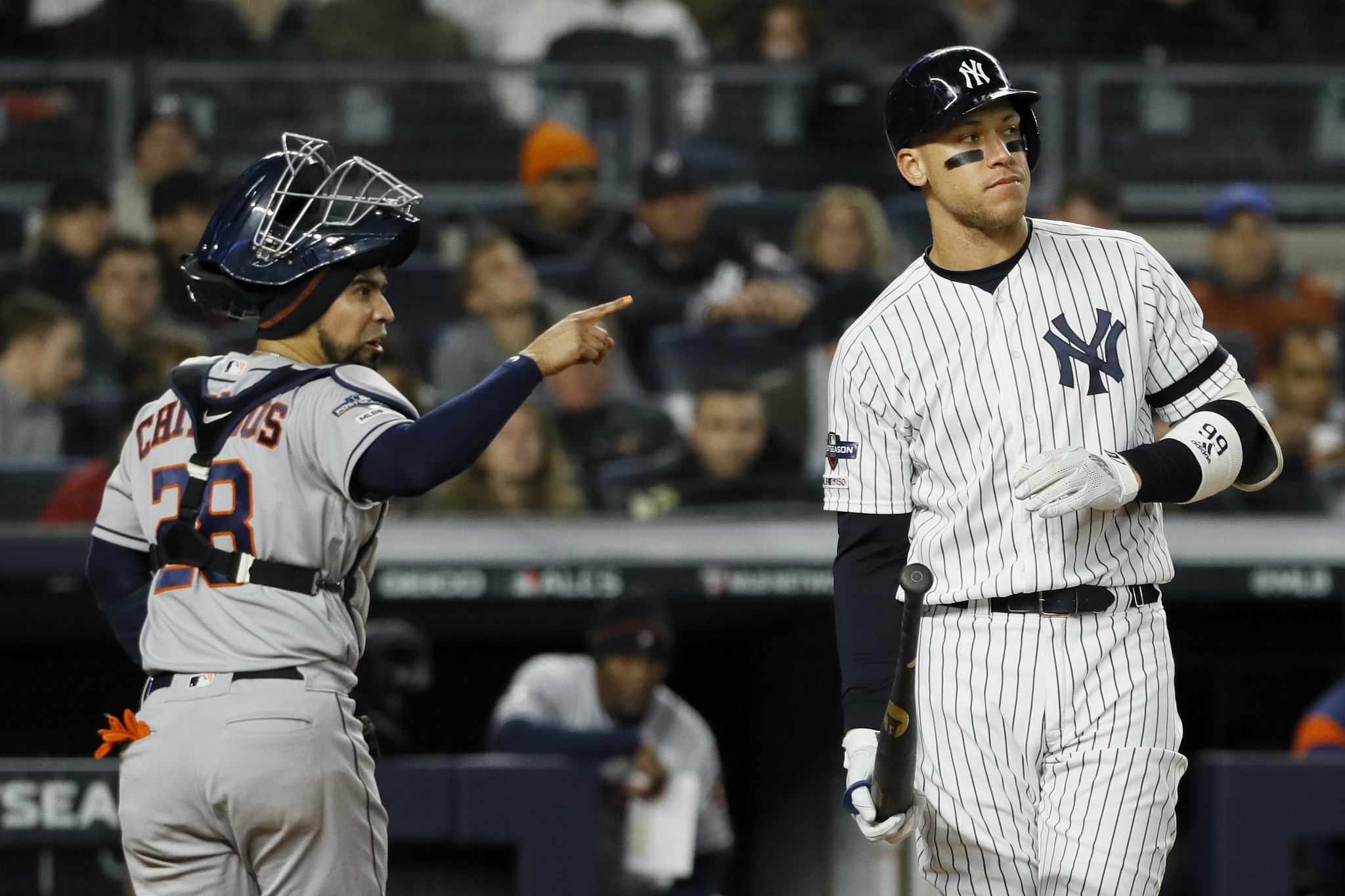Yankees angry that Astros' banging scheme might cost them in-game video