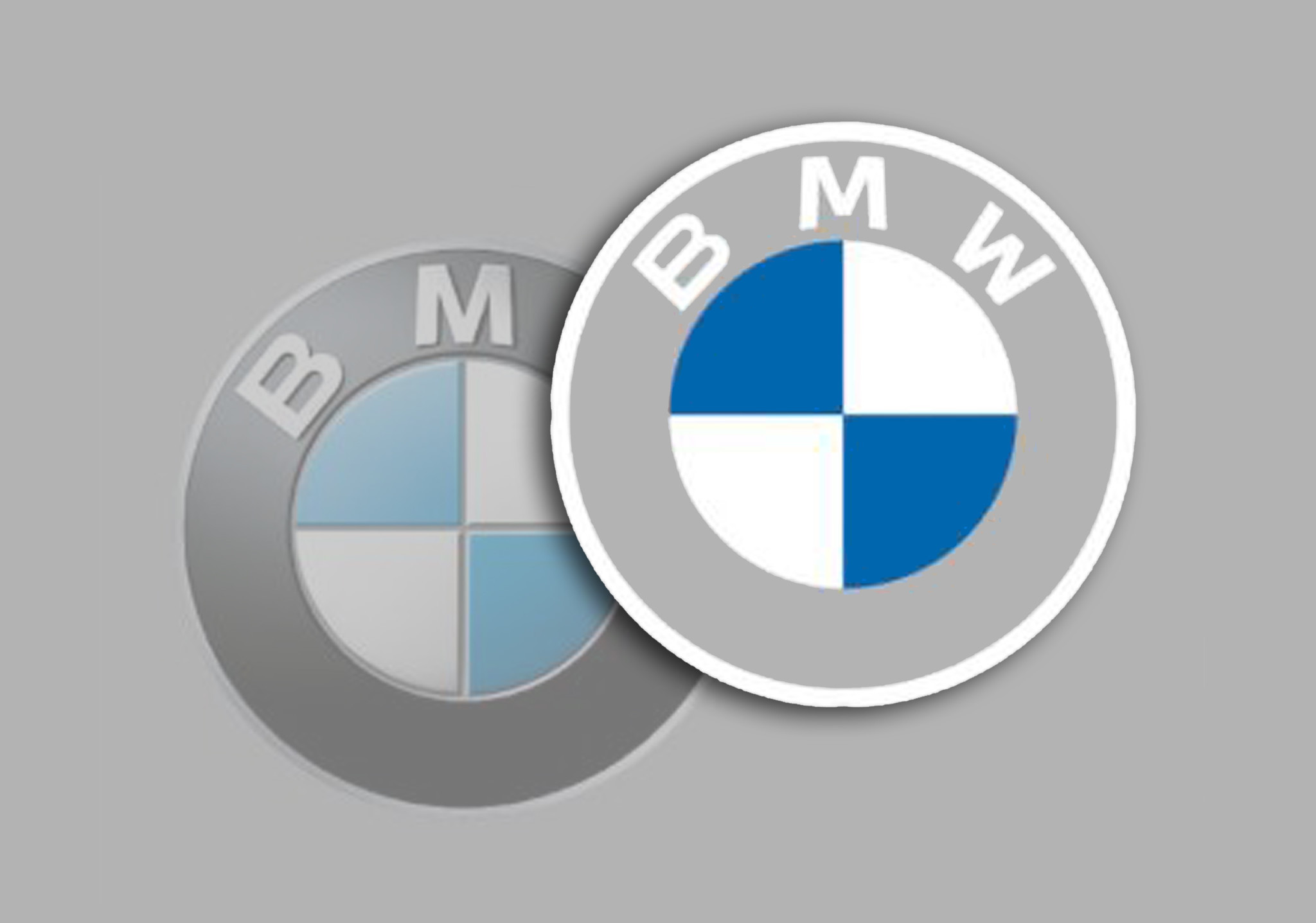 SEE IT: Luxury automaker BMW changes its iconic loco