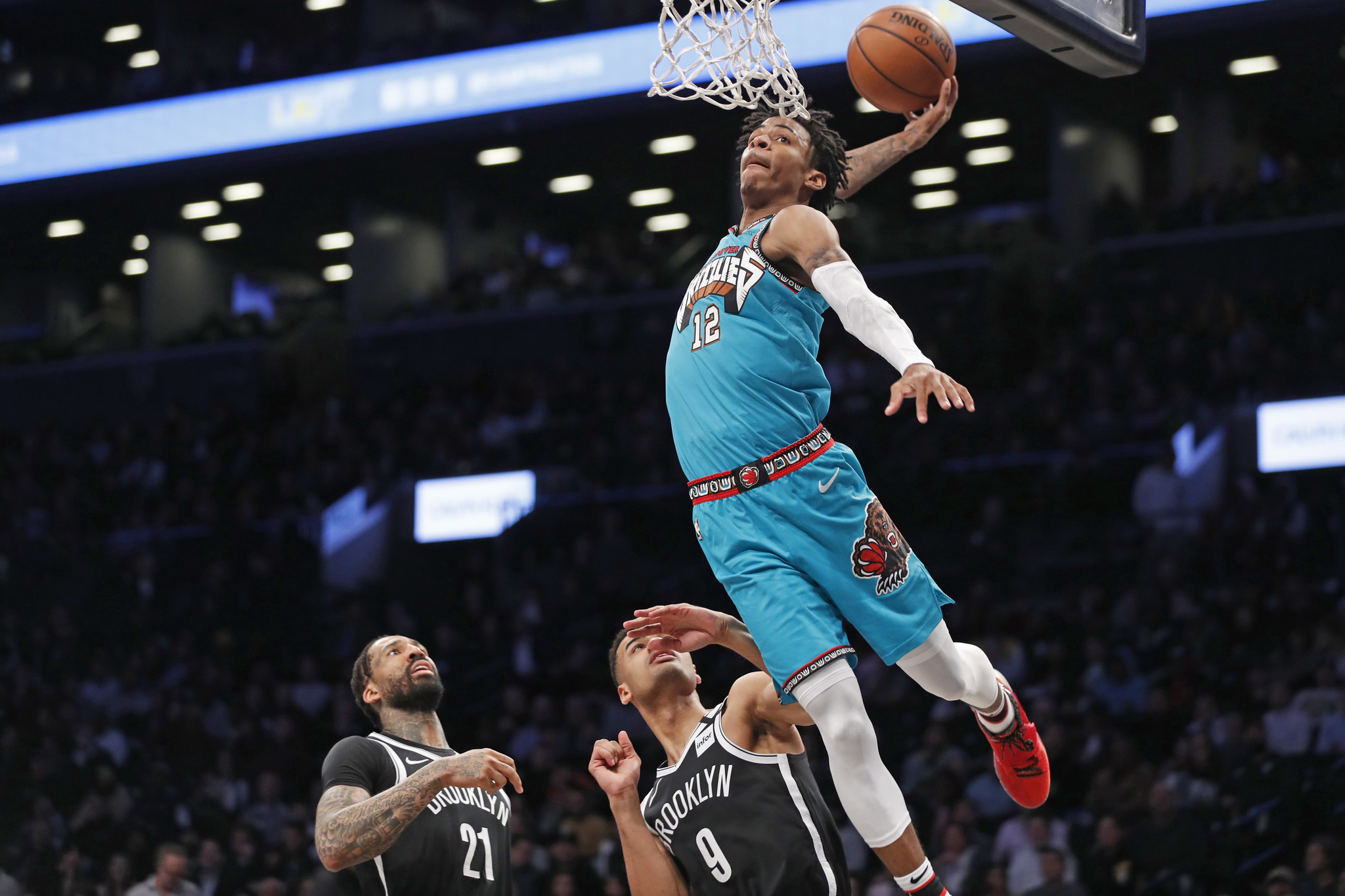 Nets booed out of Barclays Arena after mauling by Grizzlies