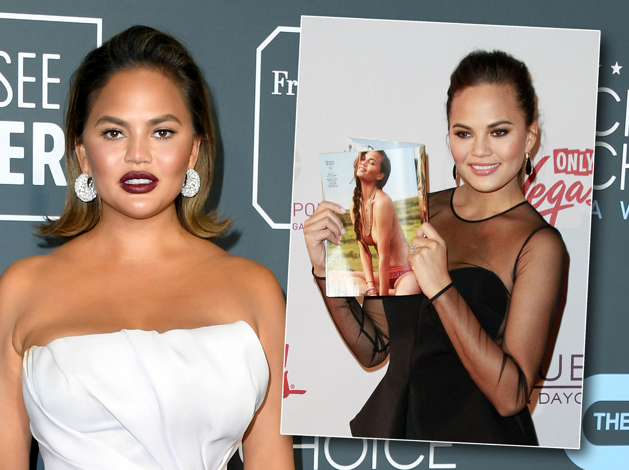 Chrissy Teigen regrets boob job she got for 'swimsuit' gig: 'I want them out now!'