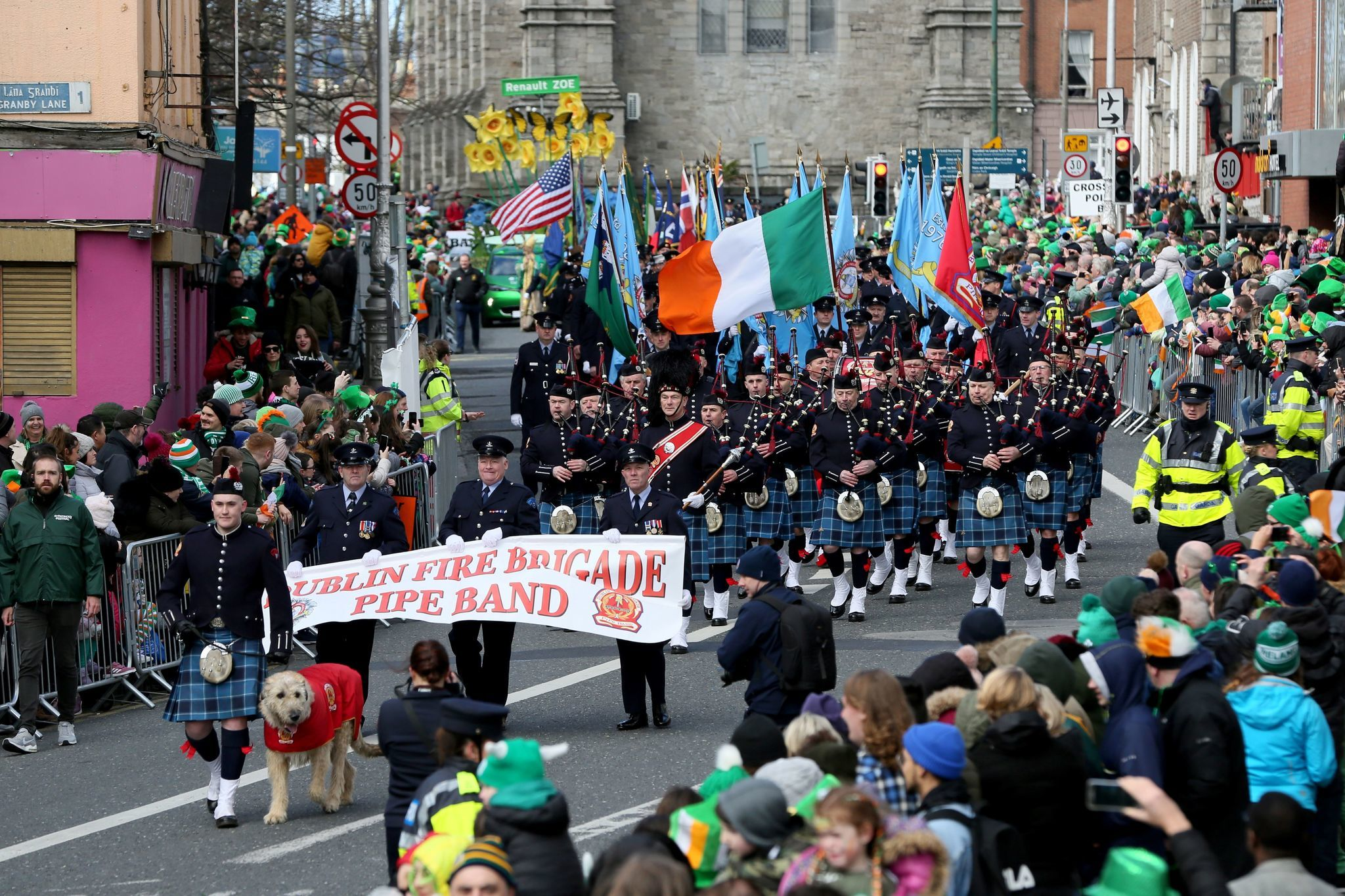 St. Patrick's Day parade canceled in Dublin
