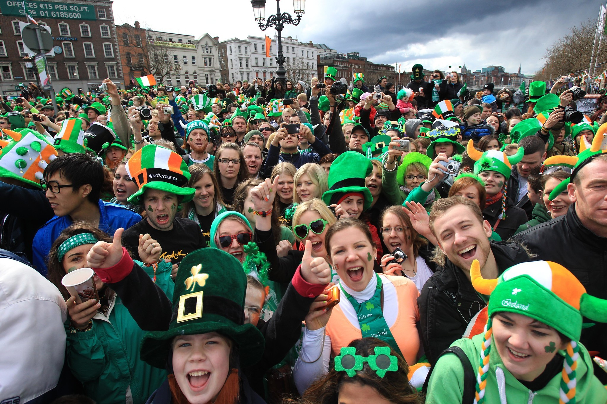 St. Patrick's Day trees are the latest rage in Ireland as holiday parades canceled due to coronavirus