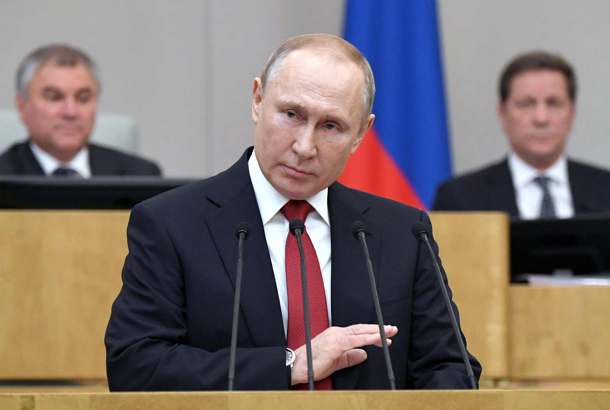 Vladimir Putin in position to remain Russian president, defy term limit in 2024