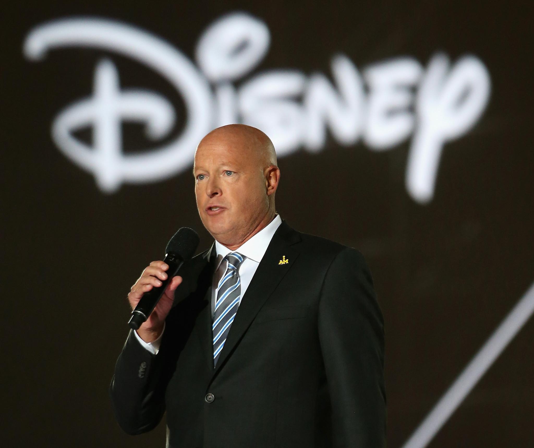 Disney CEO Bob Chapek rebuffs anti-LGBT activist
