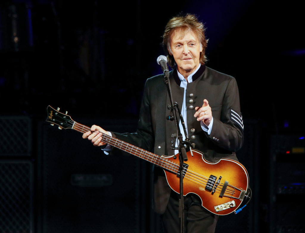 London busker shocked to see Paul McCartney tipping her