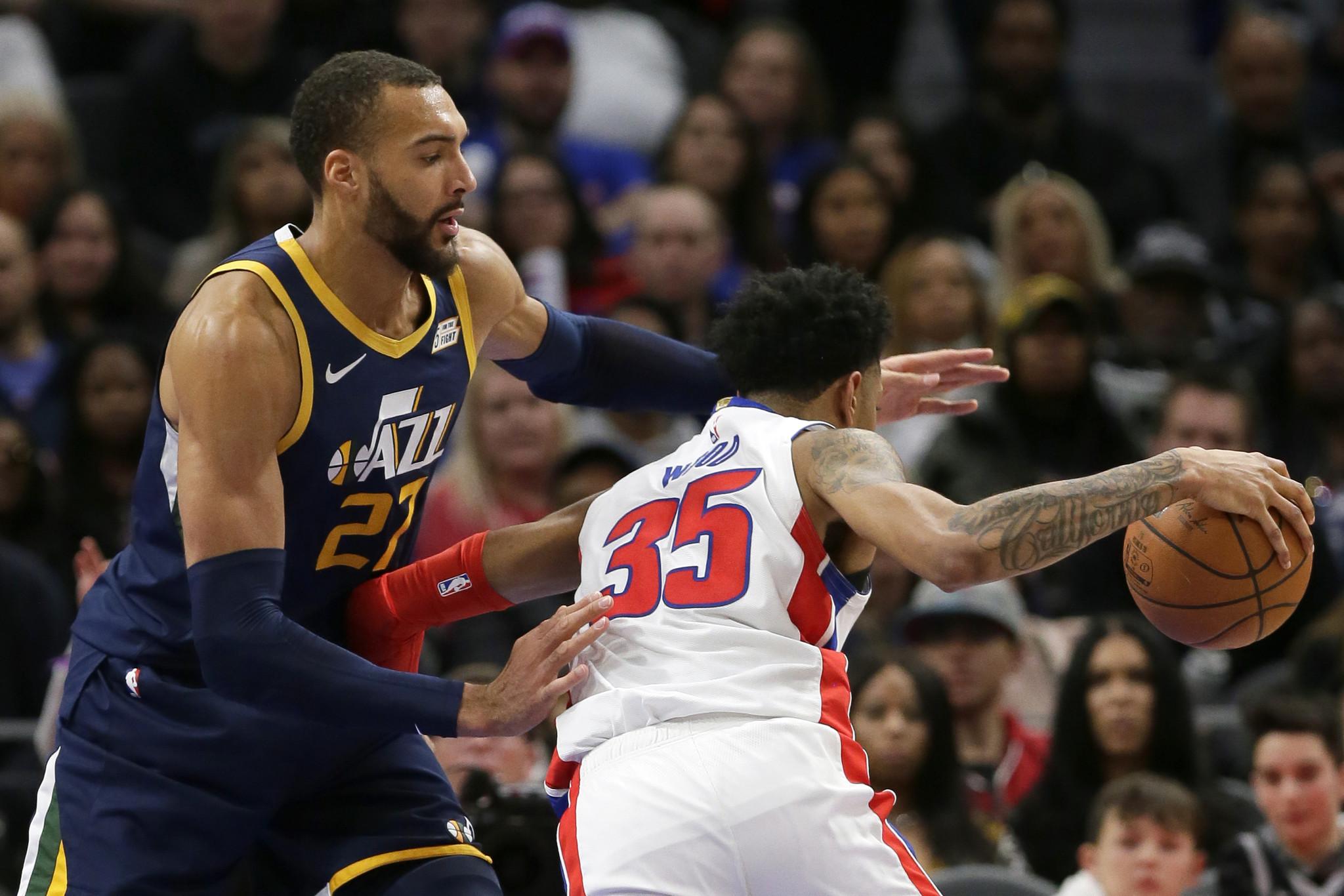 Pistons' Christian Wood has coronavirus, played against Jazz a week ago