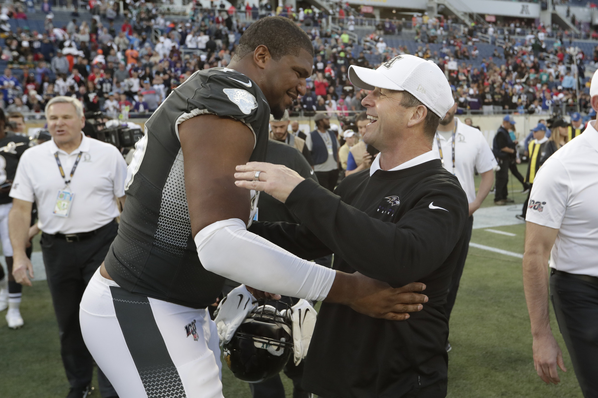 Jaguars' hard reset continues with Calais Campbell trade to Ravens