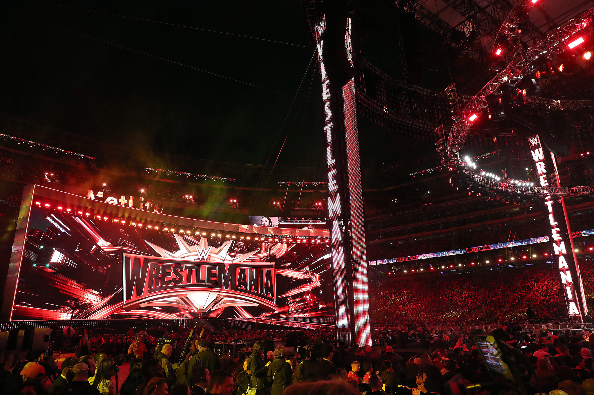 Wrestlemania moves amid coronavirus concerns, will go ahead without fans