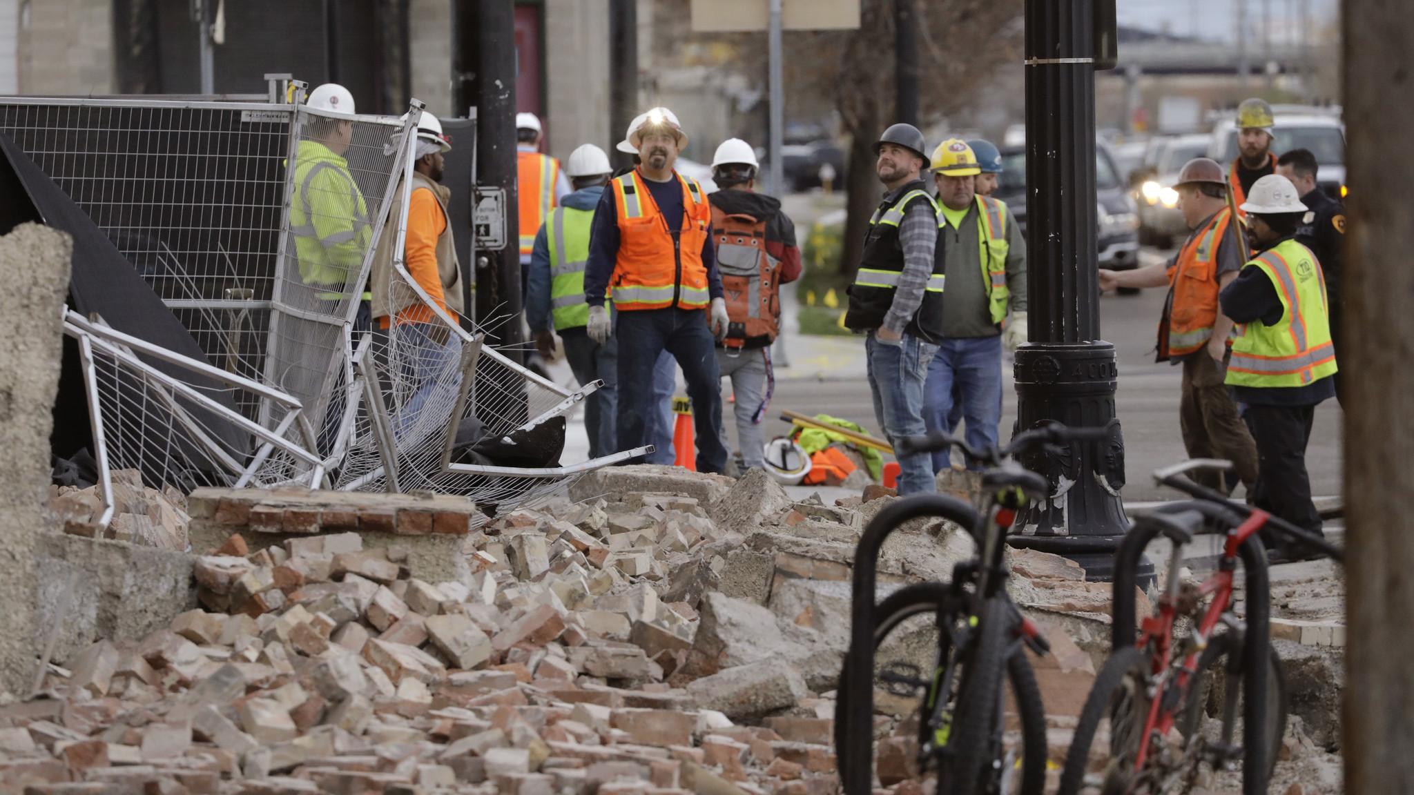 5.7 magnitude quake hits Utah, knocking out power, airport service and coronavirus hotline