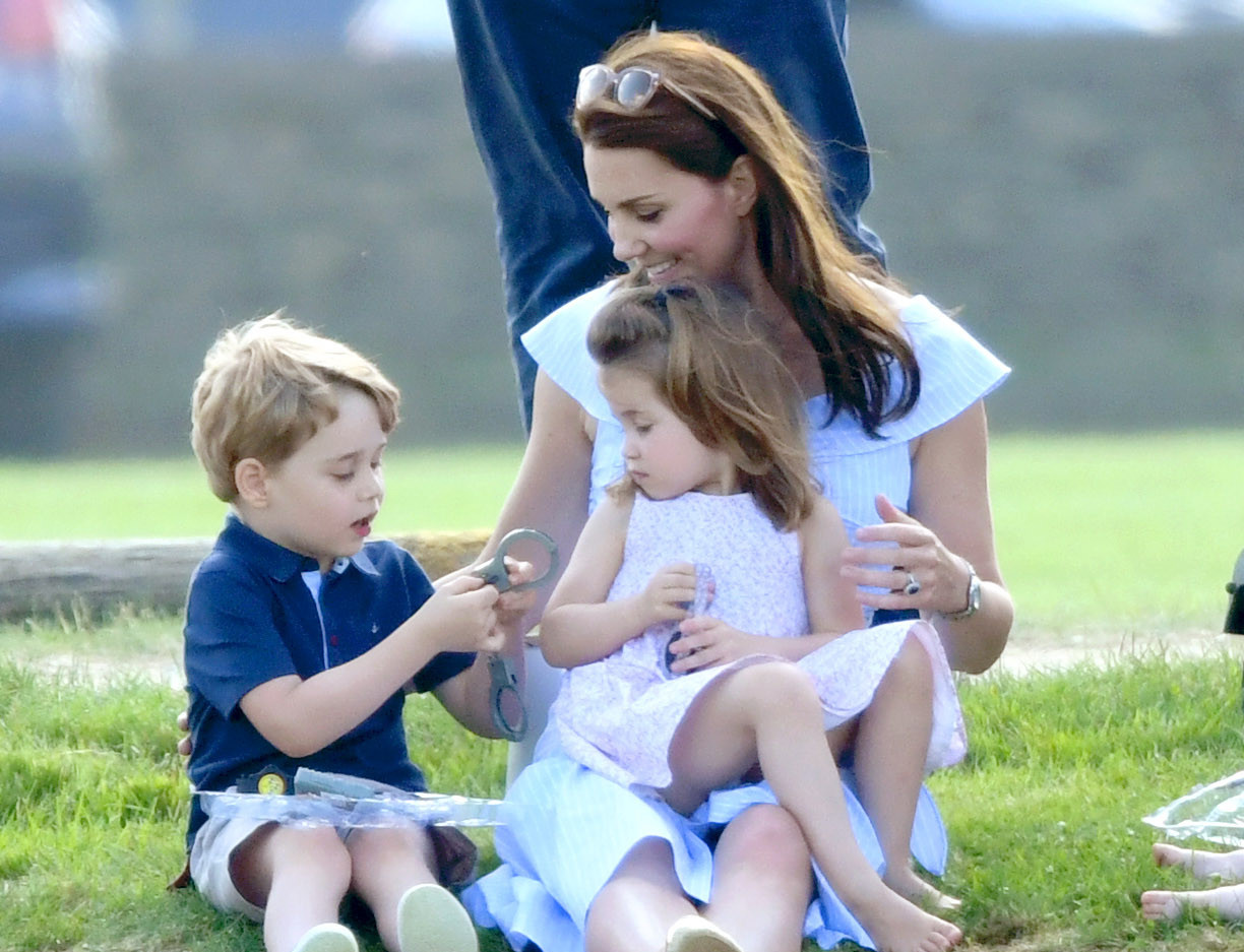 Prince George, 6, creates artistic card for Mother's Day for Kate Middleton