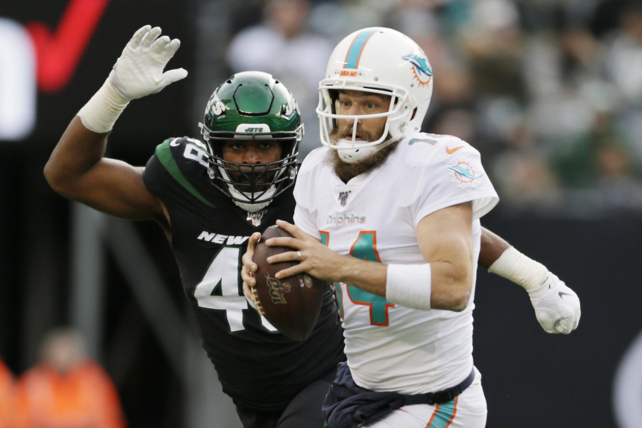 Jets, LB Jordan Jenkins closing in on deal: source