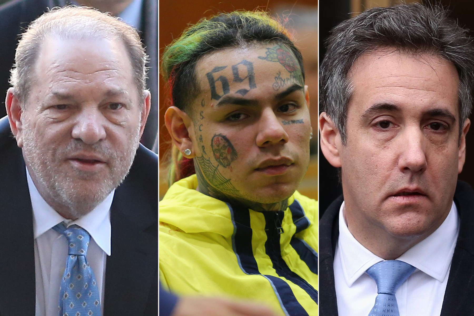 Harvey Weinstein, Tekashi69 and Michael Cohen latest high-profile inmates coping with coronavirus fallout