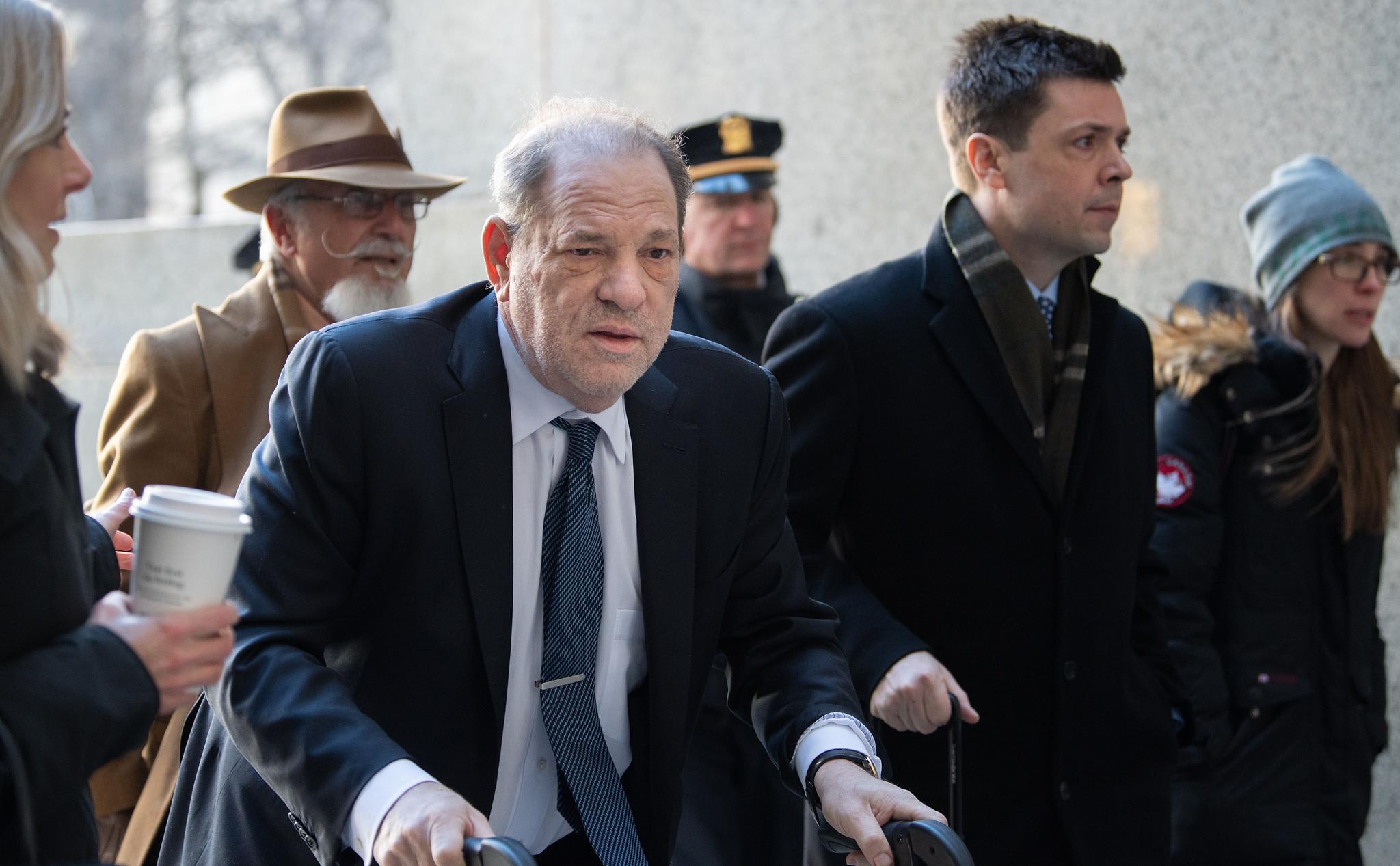 Harvey Weinstein's alleged coronavirus diagnosis not stopping Los Angeles prosecutors