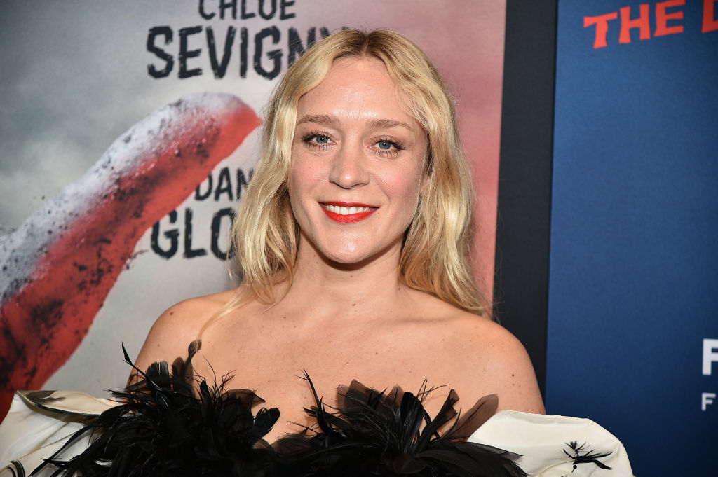 Pregnant Chloë Sevigny calls ban on partners in delivery room 'distressing'
