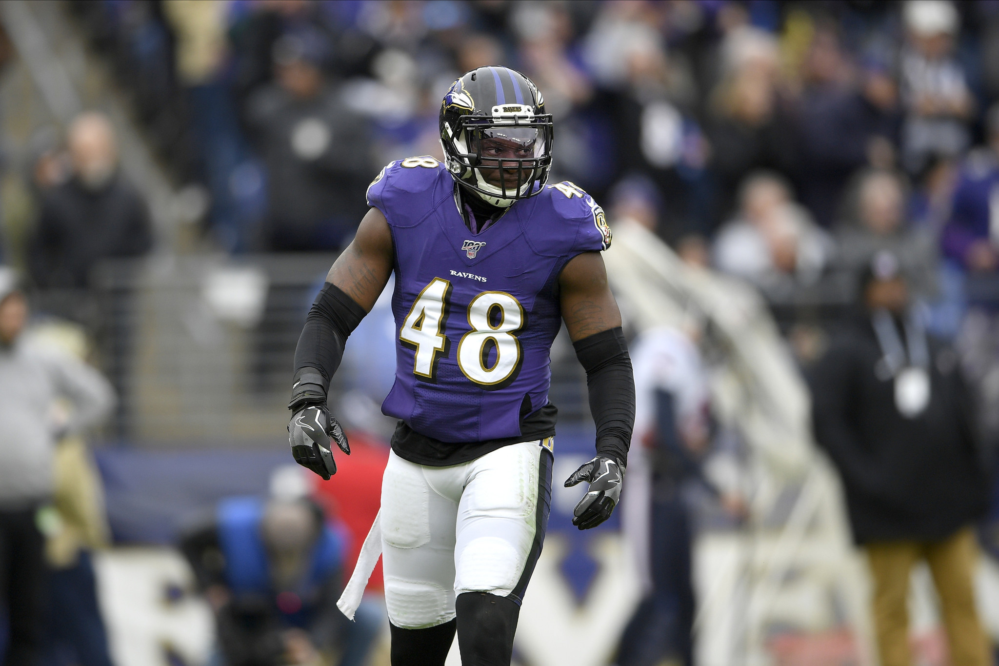 Jets, former Ravens linebacker Patrick Onwuasor agree to one-year deal: source