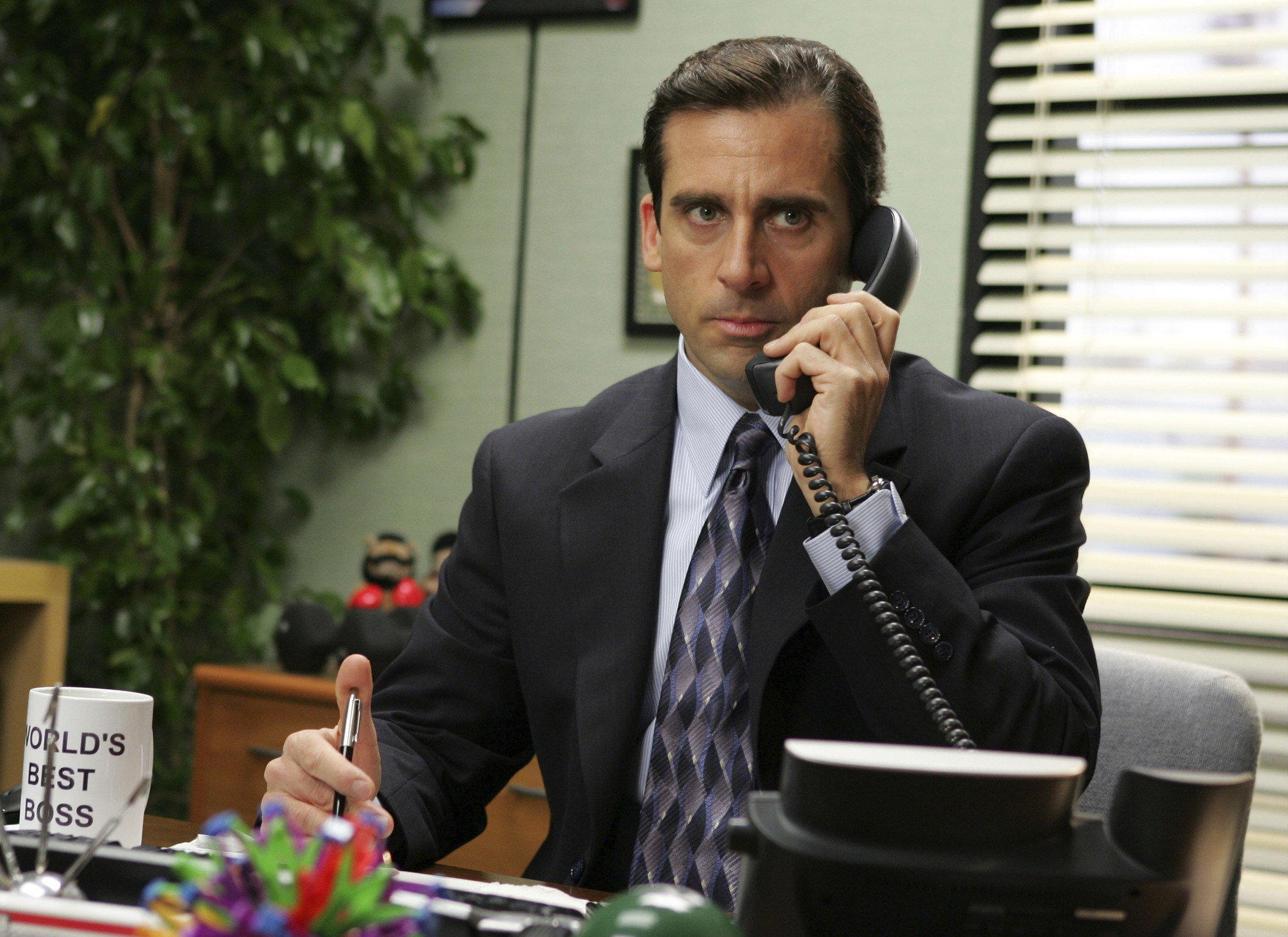 Steve Carell never wanted to leave 'The Office,' report says