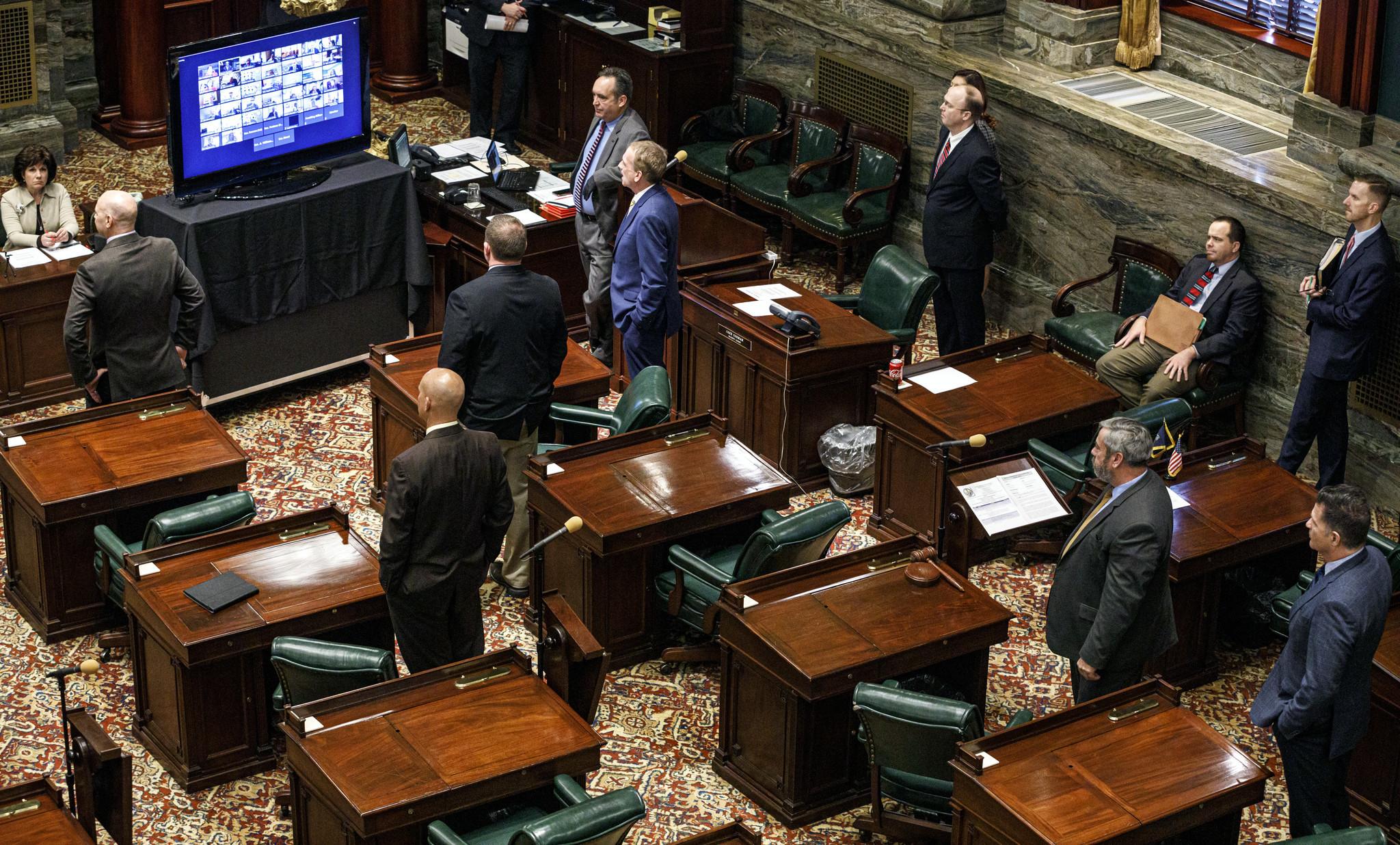 Pennsylvania lawmakers vote to delay primary election to June amid coronavirus crisis