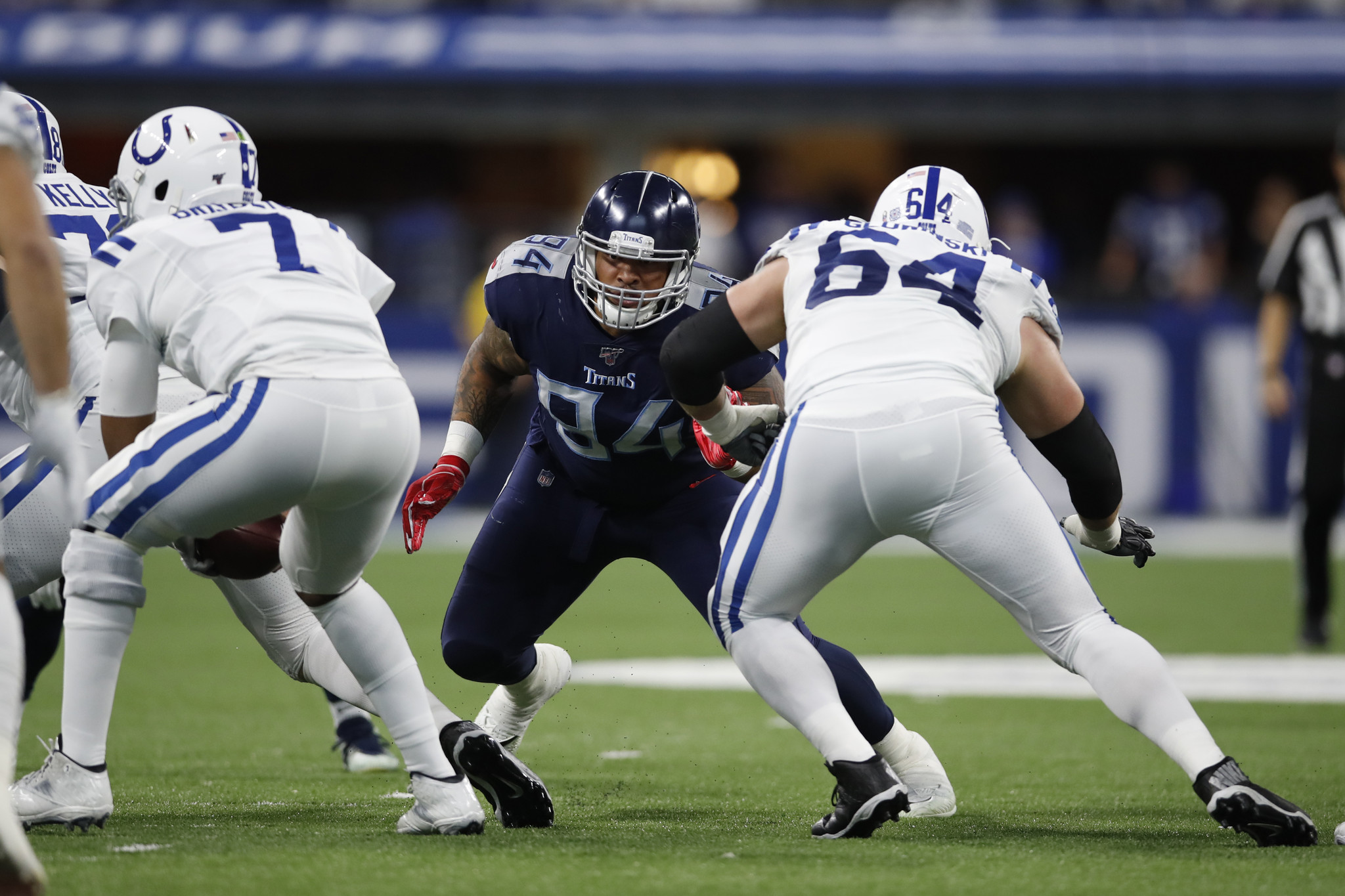 Giants add ex-Titans DT Austin Johnson for run-stopping depth on defensive line