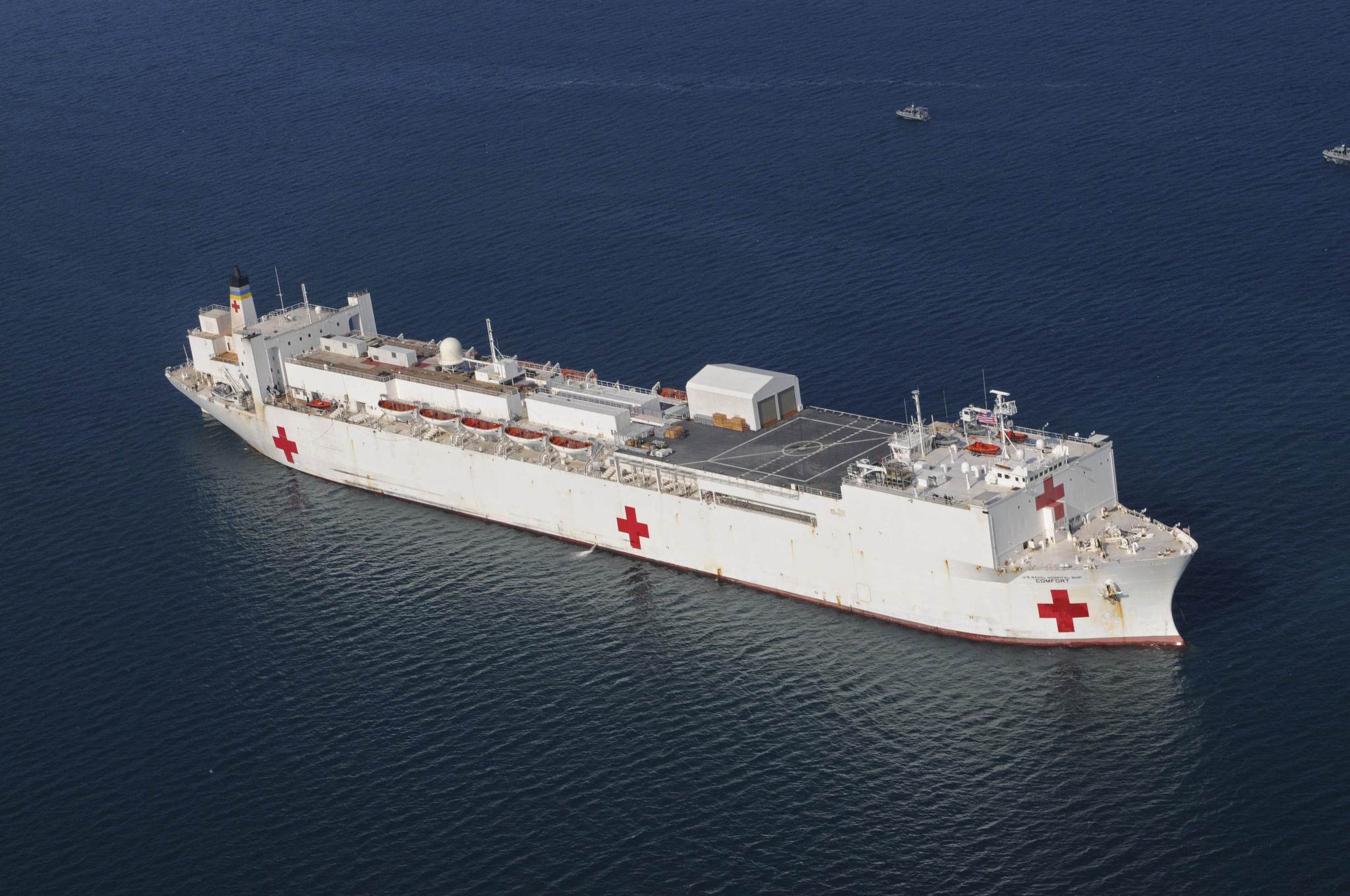 USNS Comfort to arrive in NYC on Monday to relieve hospitals overrun with coronavirus patients