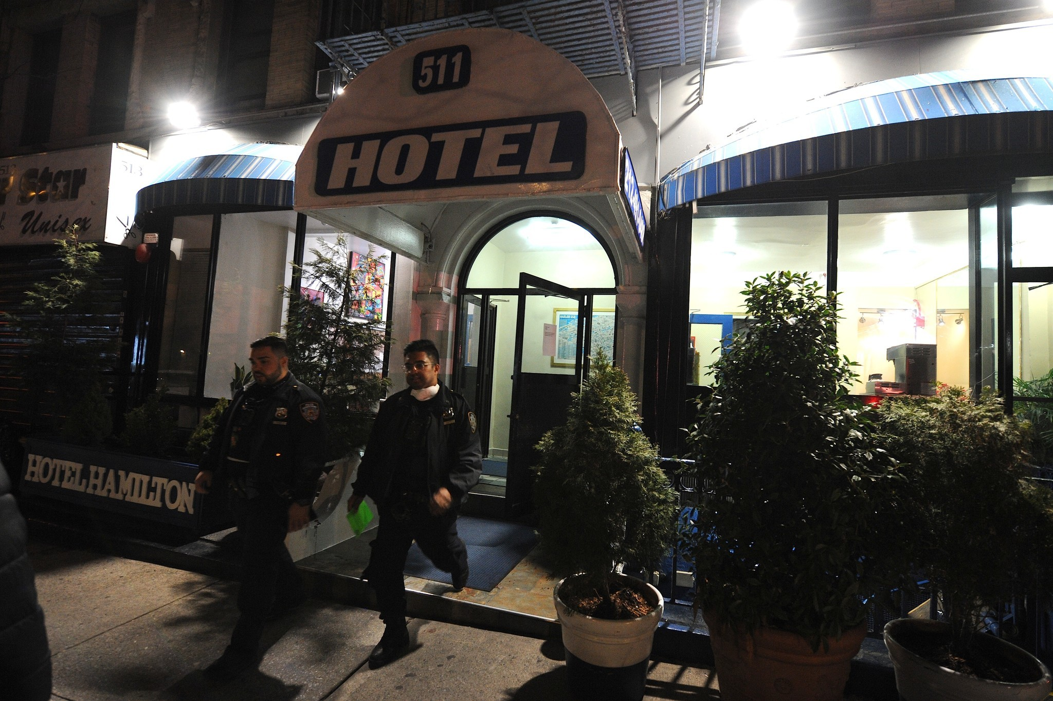 Man charged with murdering woman in Harlem hotel lobby