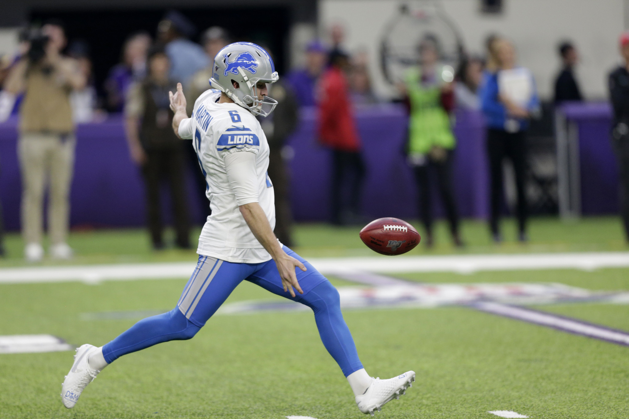 Jets wanted to sign former Lions punter Sam Martin before he went to Broncos: sources