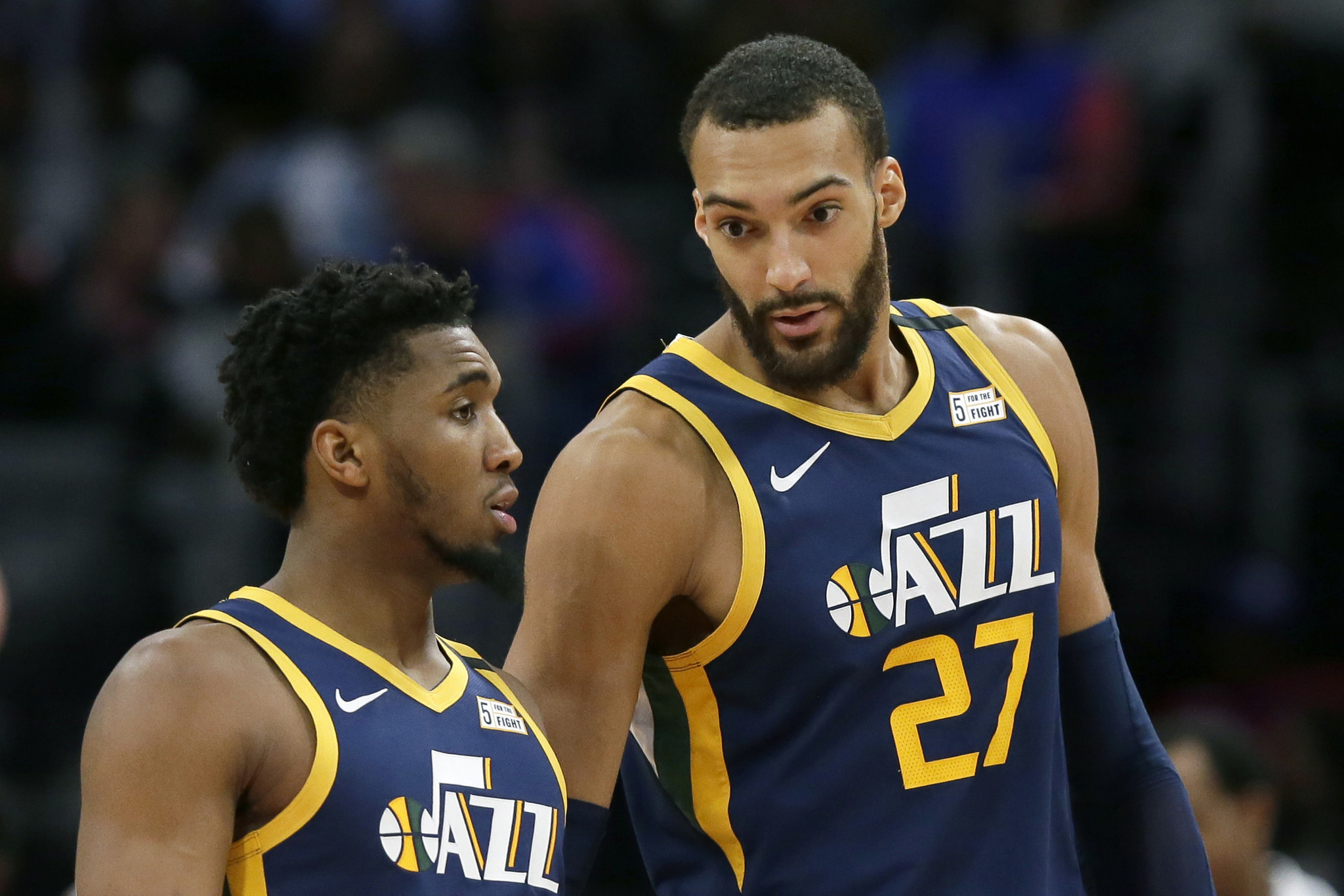 Utah Jazz claim all players, including Rudy Gobert and Donovan Mitchell, and staff 'no longer pose a risk of infection'