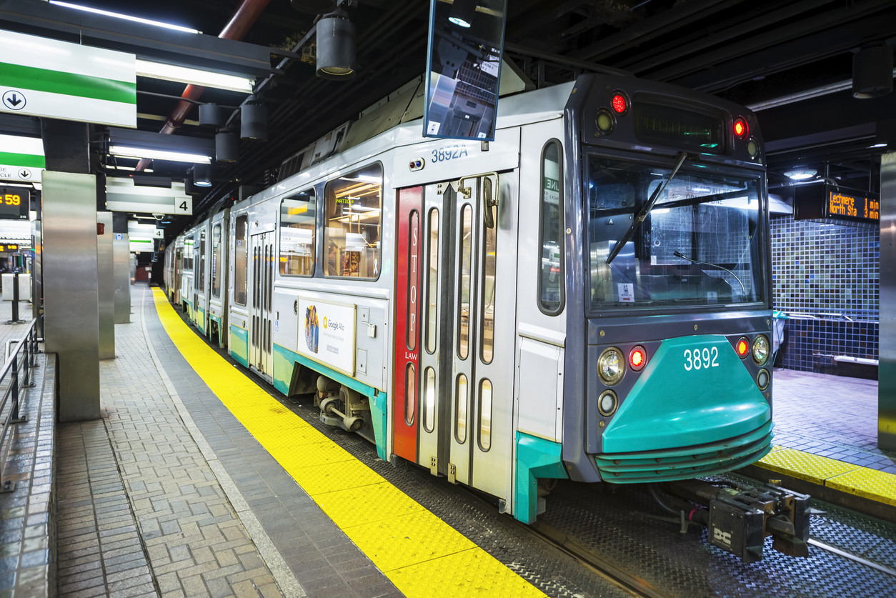 Boston train removed from service after person reportedly licks it