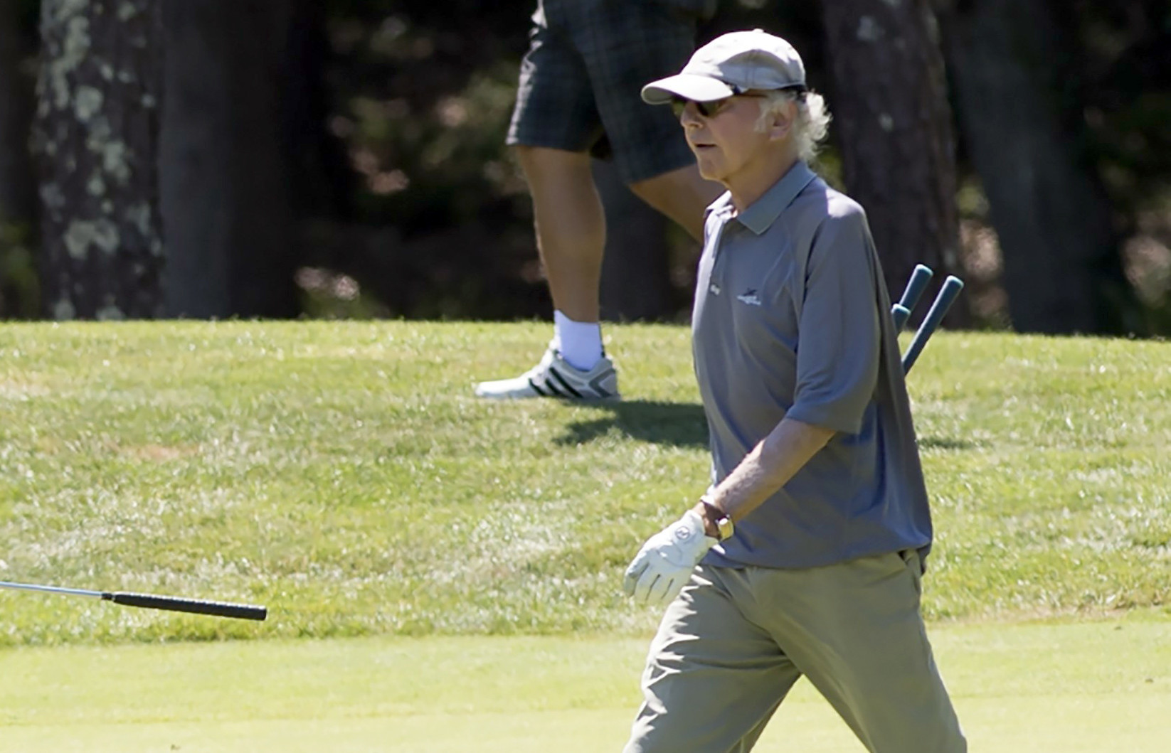 Larry David starts GoFundMe for caddies at his country club affected by coronavirus pandemic