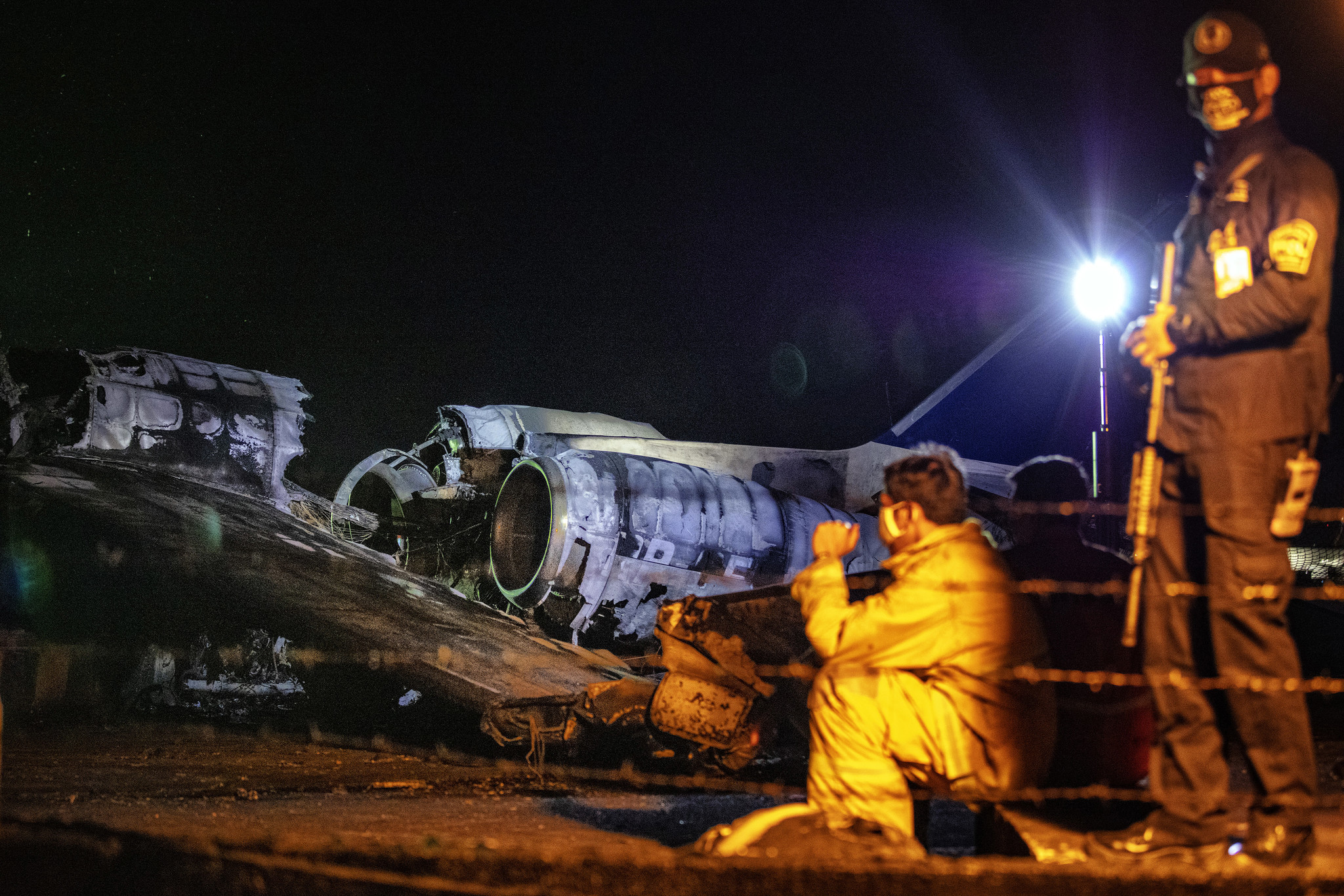 Eight killed, including one American, after coronavirus ambulance plane catches fire in Philippines