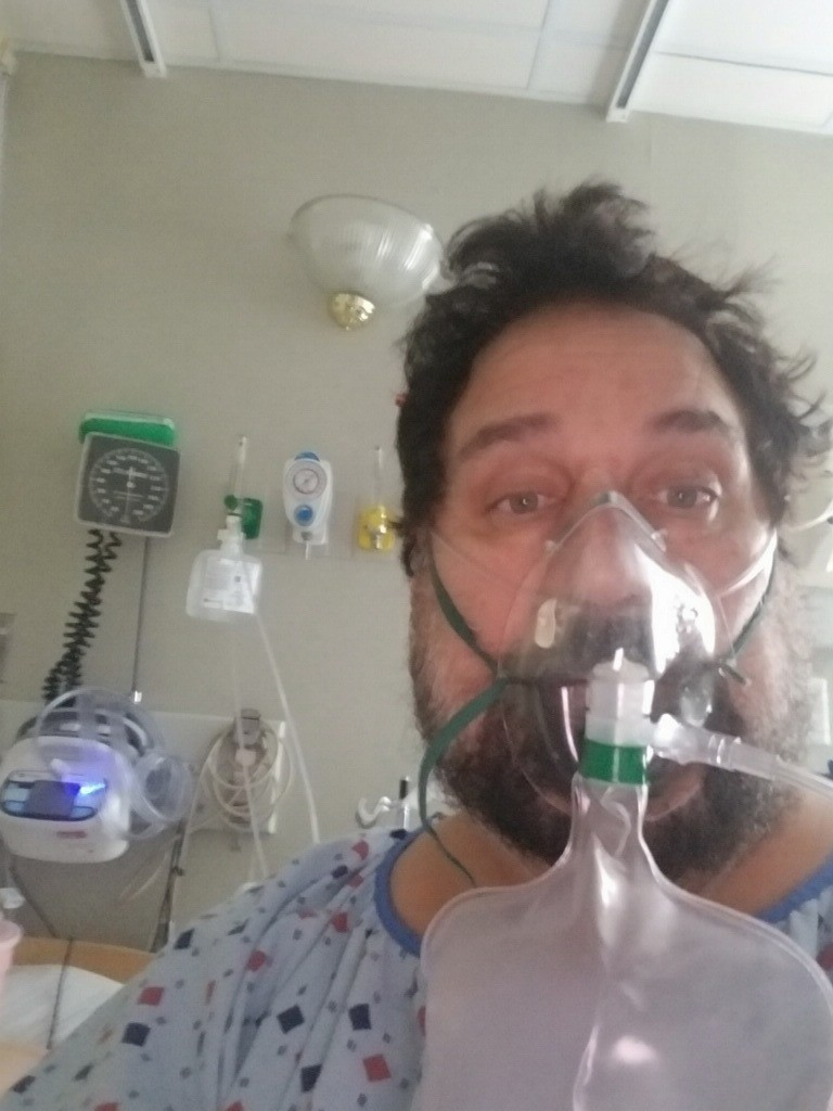 'I thought one more coughing fit and I was done,' recounts Brooklyn man describing miracle coronavirus recovery